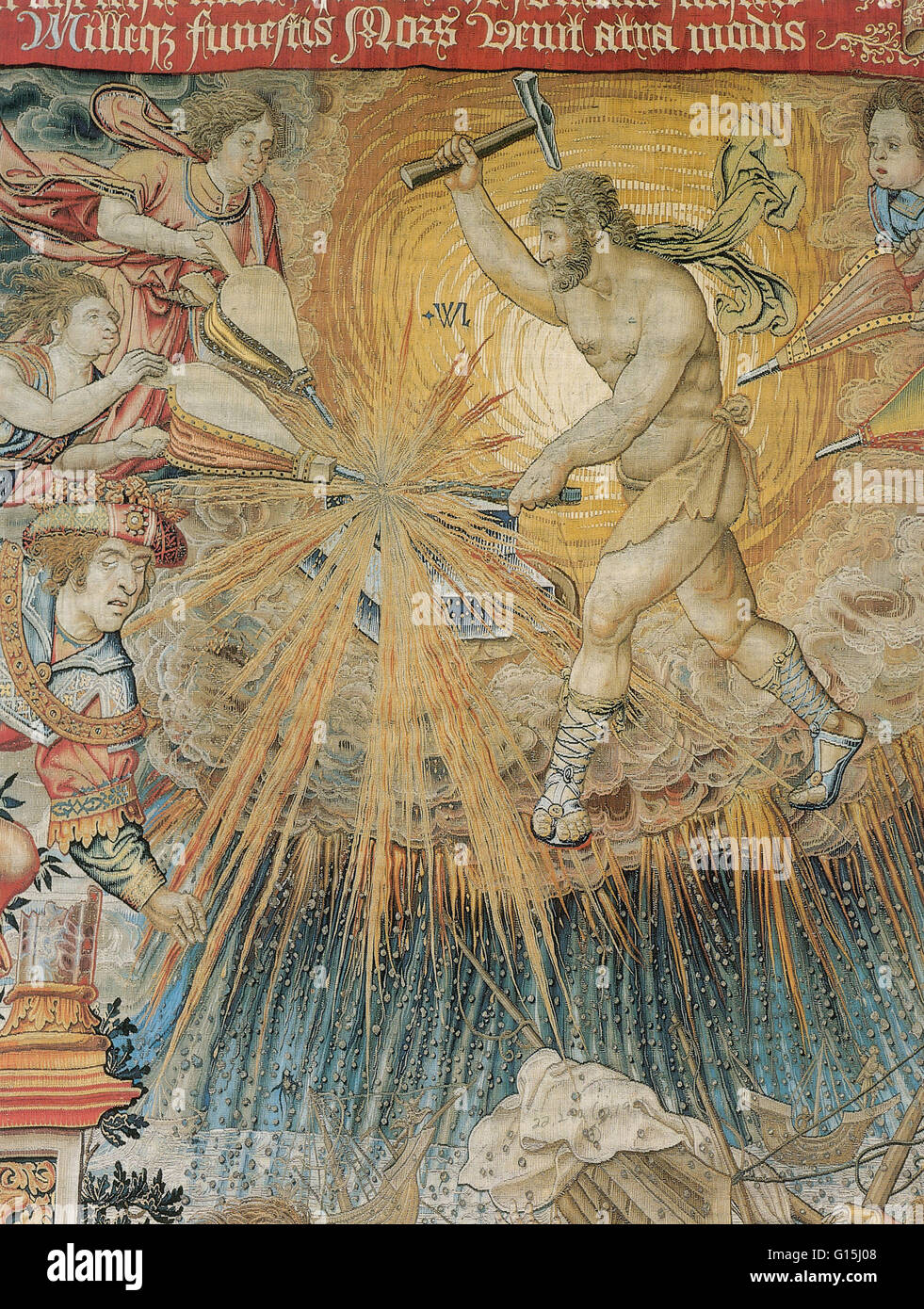 In Ancient Roman Religion And Myth Vulcan Is The God Of