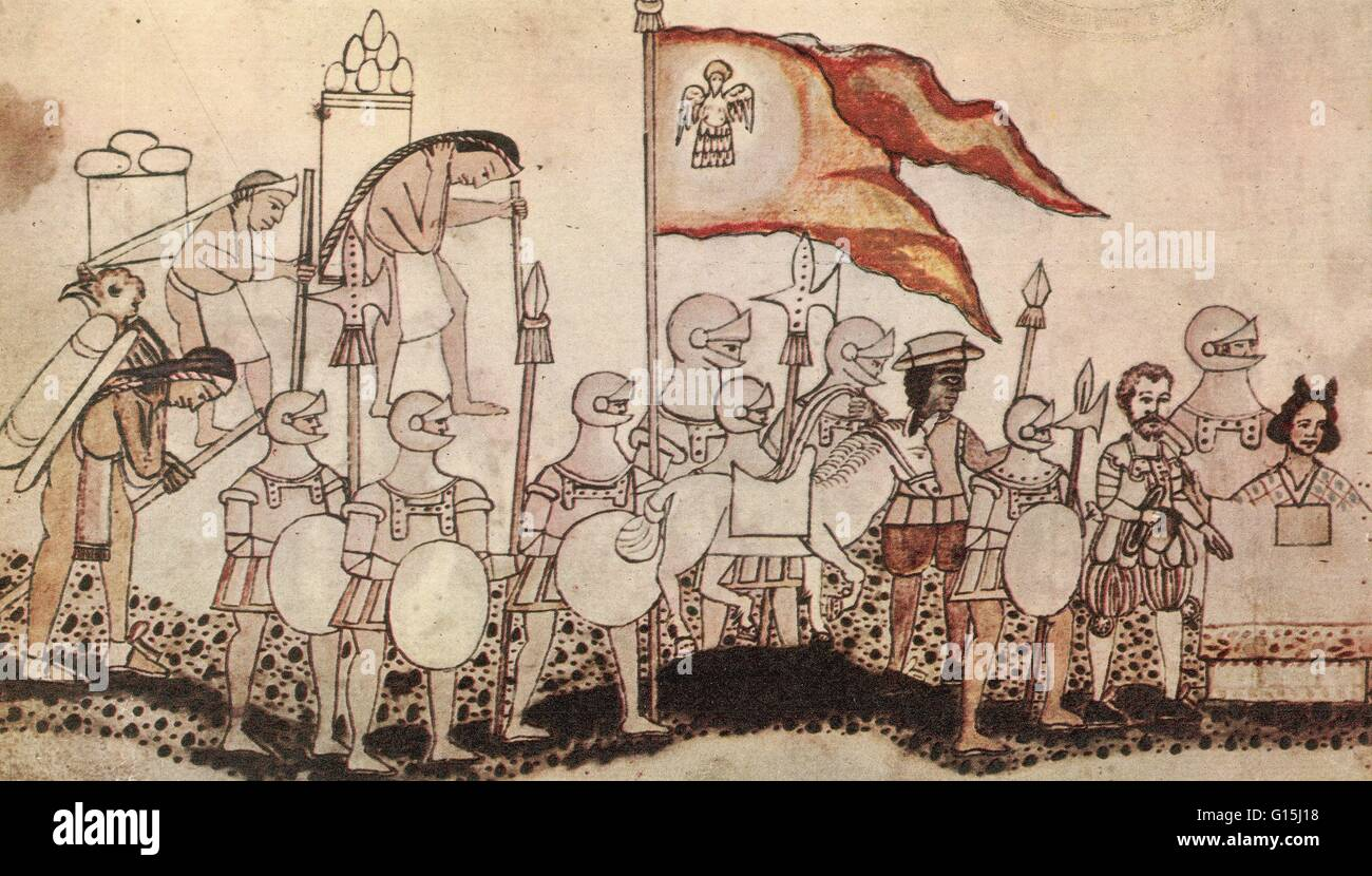 a history of the spanish conquest in the aztec empire Most interpretations of the spanish conquest of  handicapped the aztec soldier before the spanish  tactical factors in the spanish conquest of the aztecs.