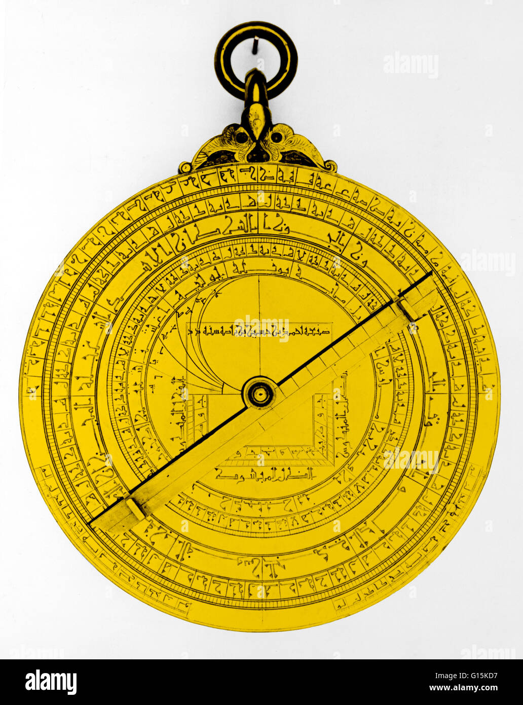 Astrolabes stock photos astrolabes stock images alamy an illustration of a 15th century arabic astrolabe the astrolabe serves many functions including nvjuhfo Image collections
