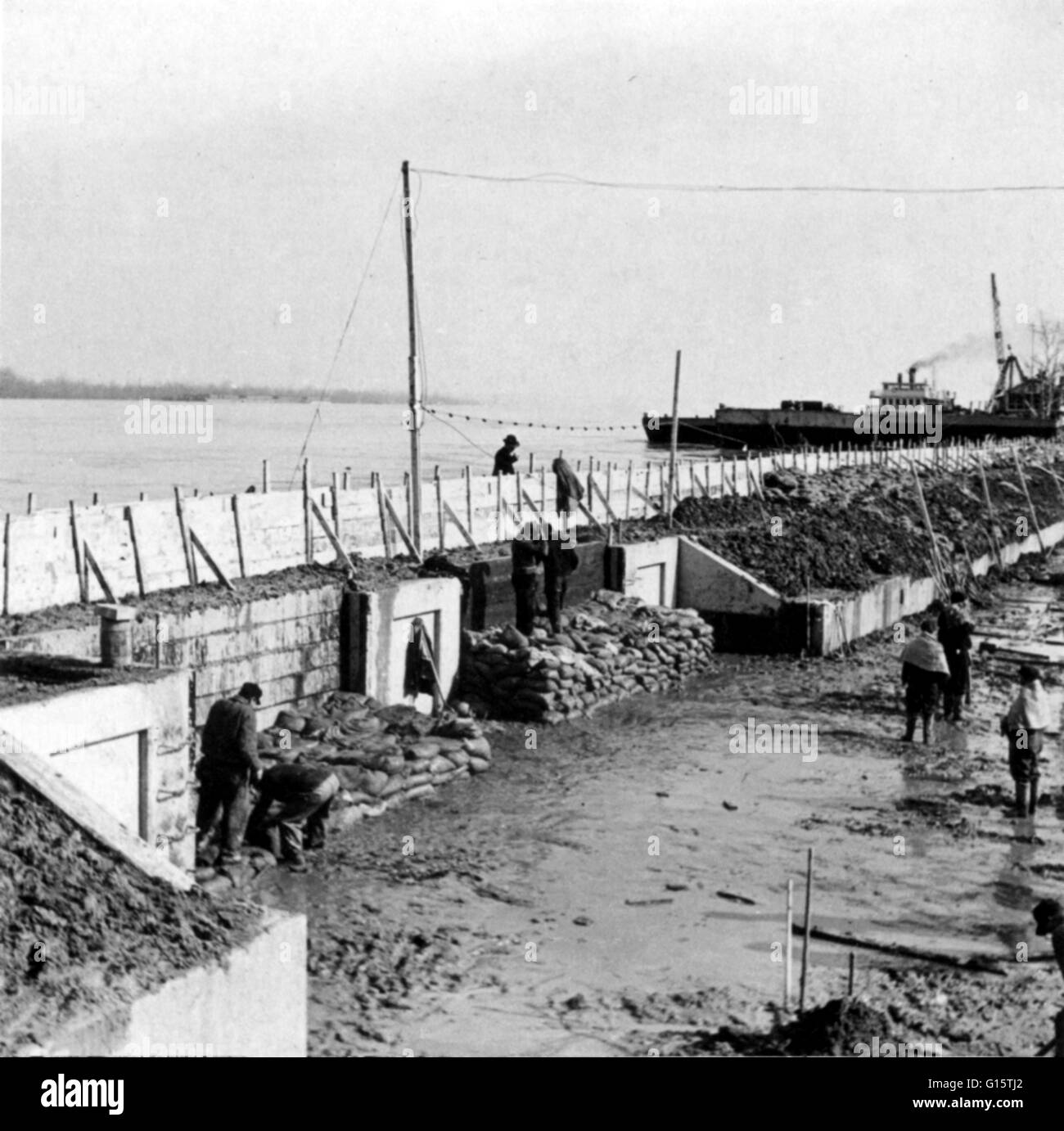 Image result for february 4, 1937 ohio river flood