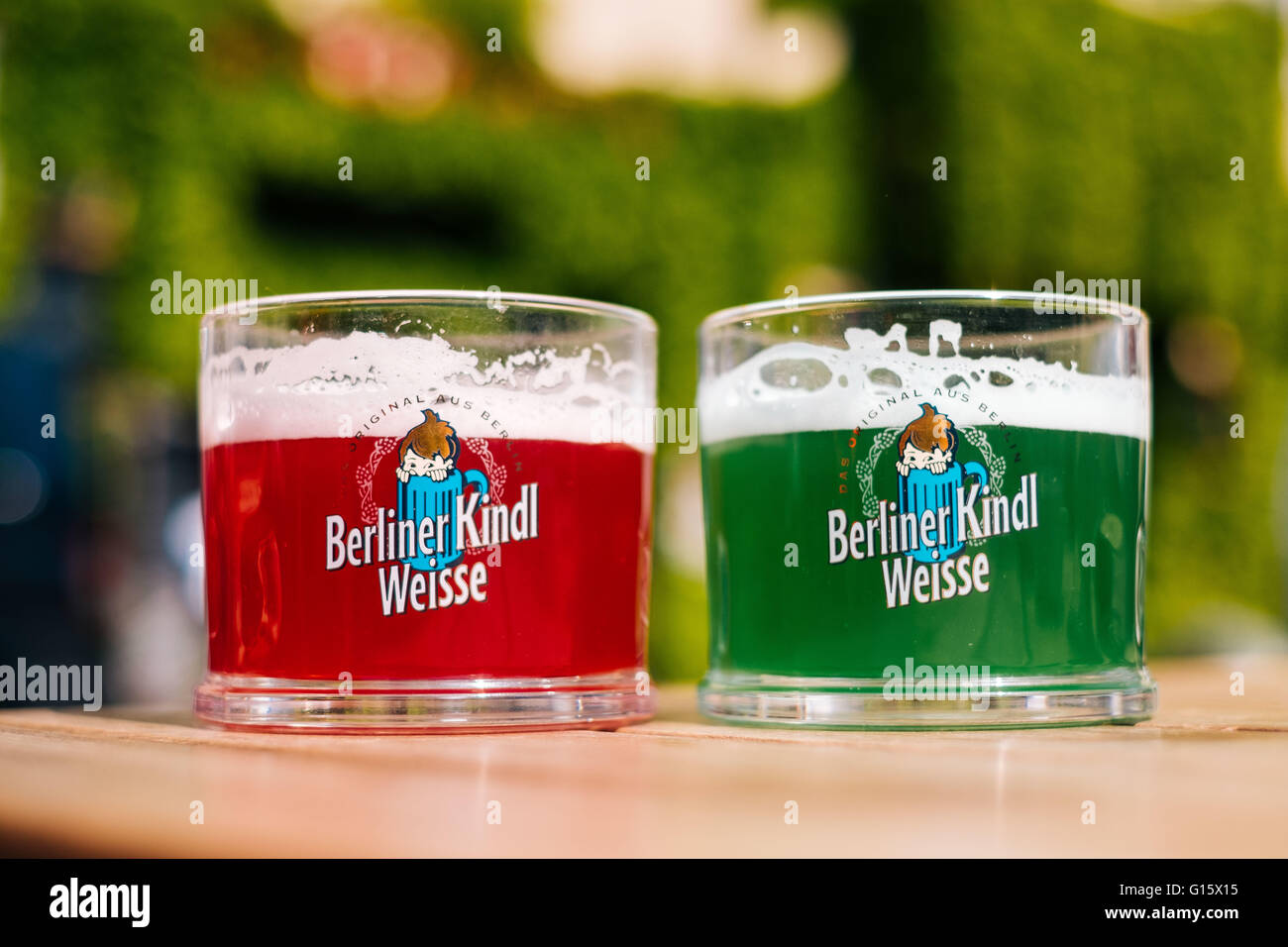 the berlin cult beer berliner kindl weisse with the flavor stock photo 104007041 alamy. Black Bedroom Furniture Sets. Home Design Ideas