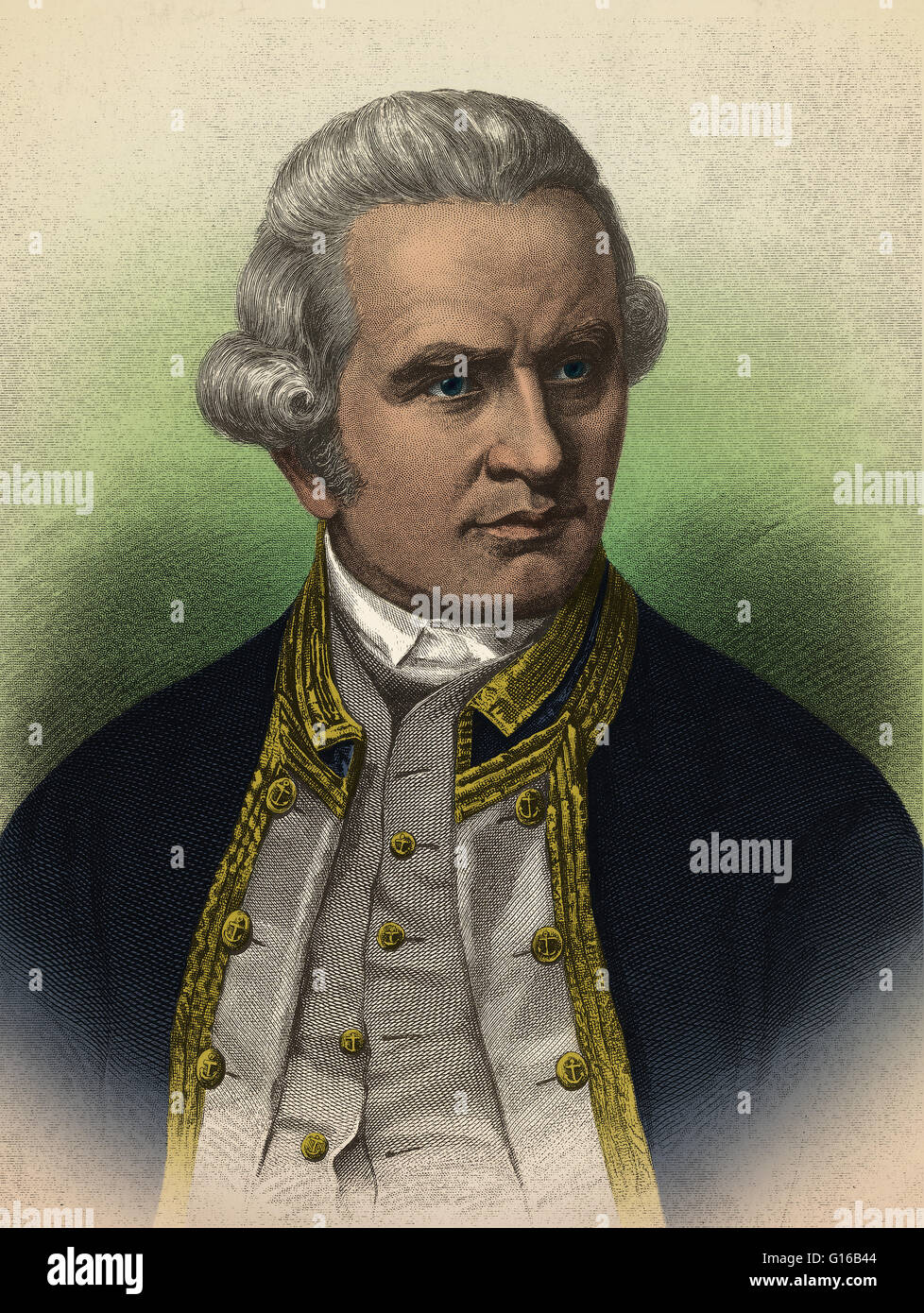 Captain james cook 1728 1779 british explorer after joining captain james cook 1728 1779 british explorer after joining the royal navy cook undertook his first major voyage from 1768 71 accurately mapping new sciox Images