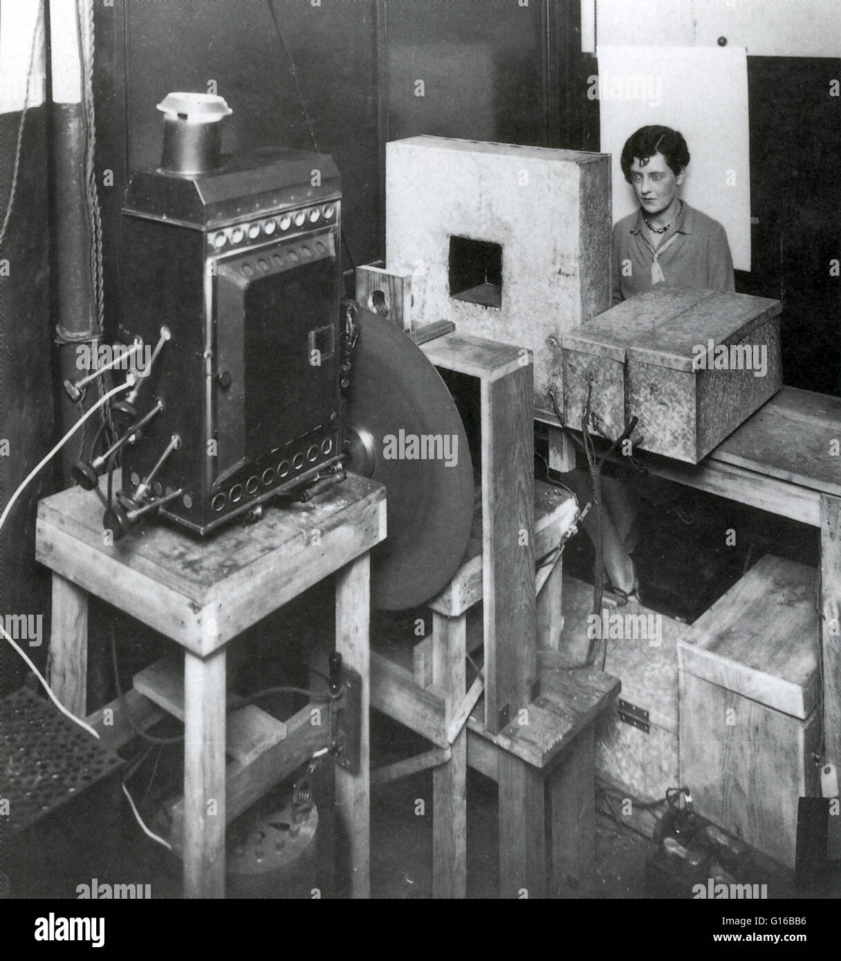 Early Television Experiment At The General Electric Co