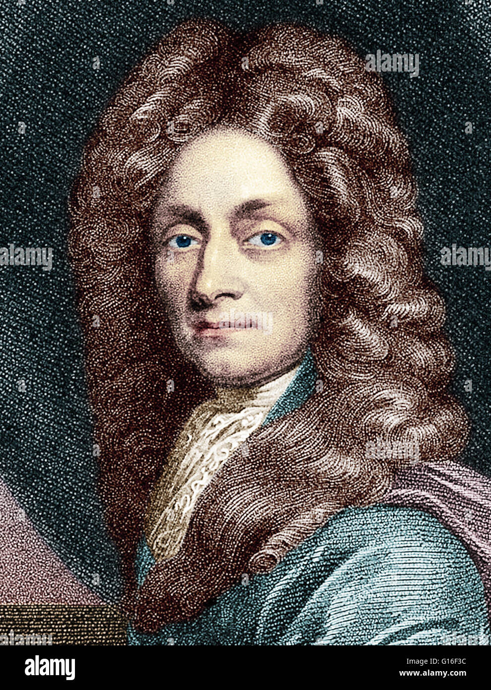 Sir Christopher Wren Portrait Stock Photos & Sir Christopher Wren ...