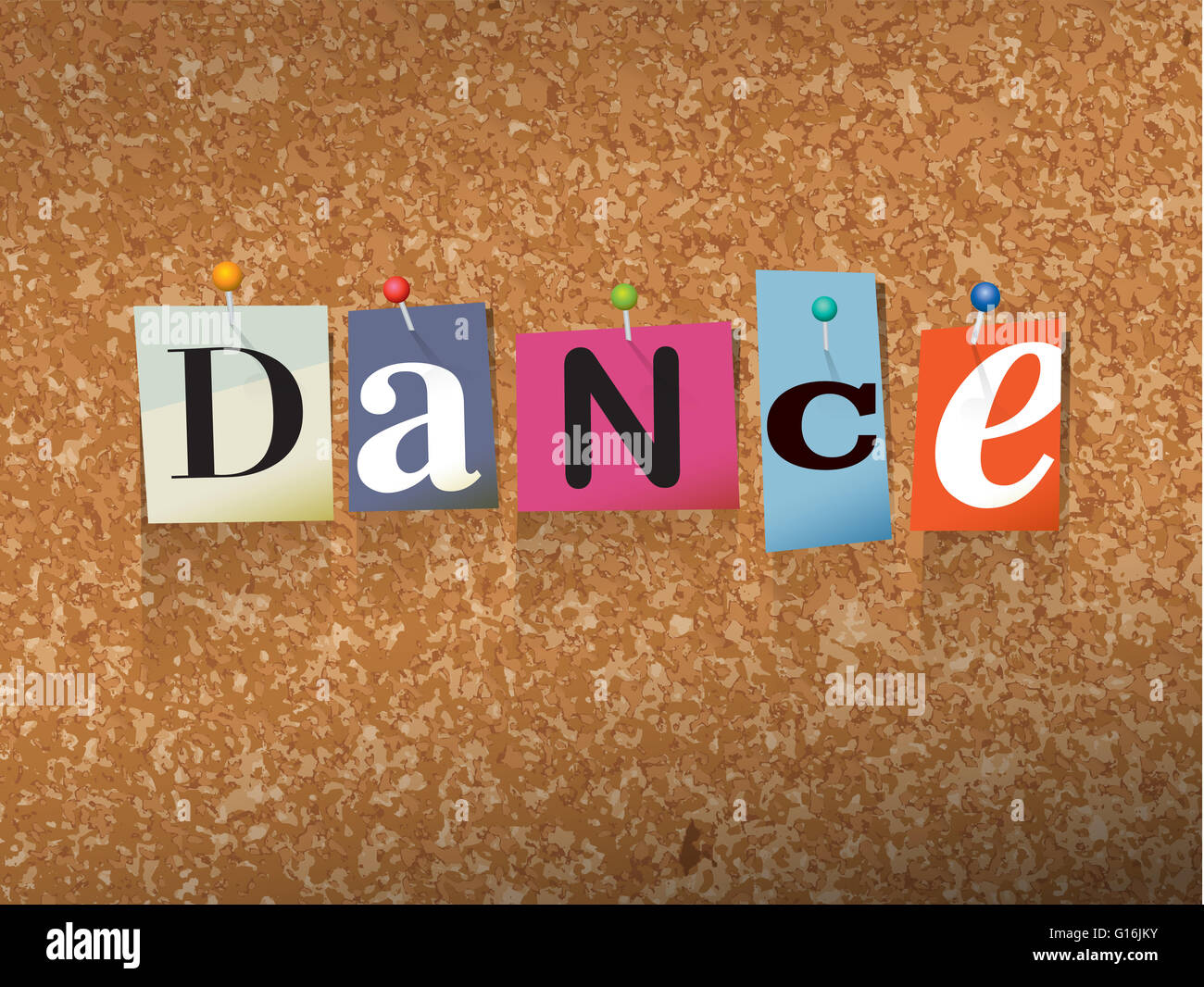 dancing letters stock photos dancing letters stock images alamy the word dance written in cut ransom note style paper letters and pinned to