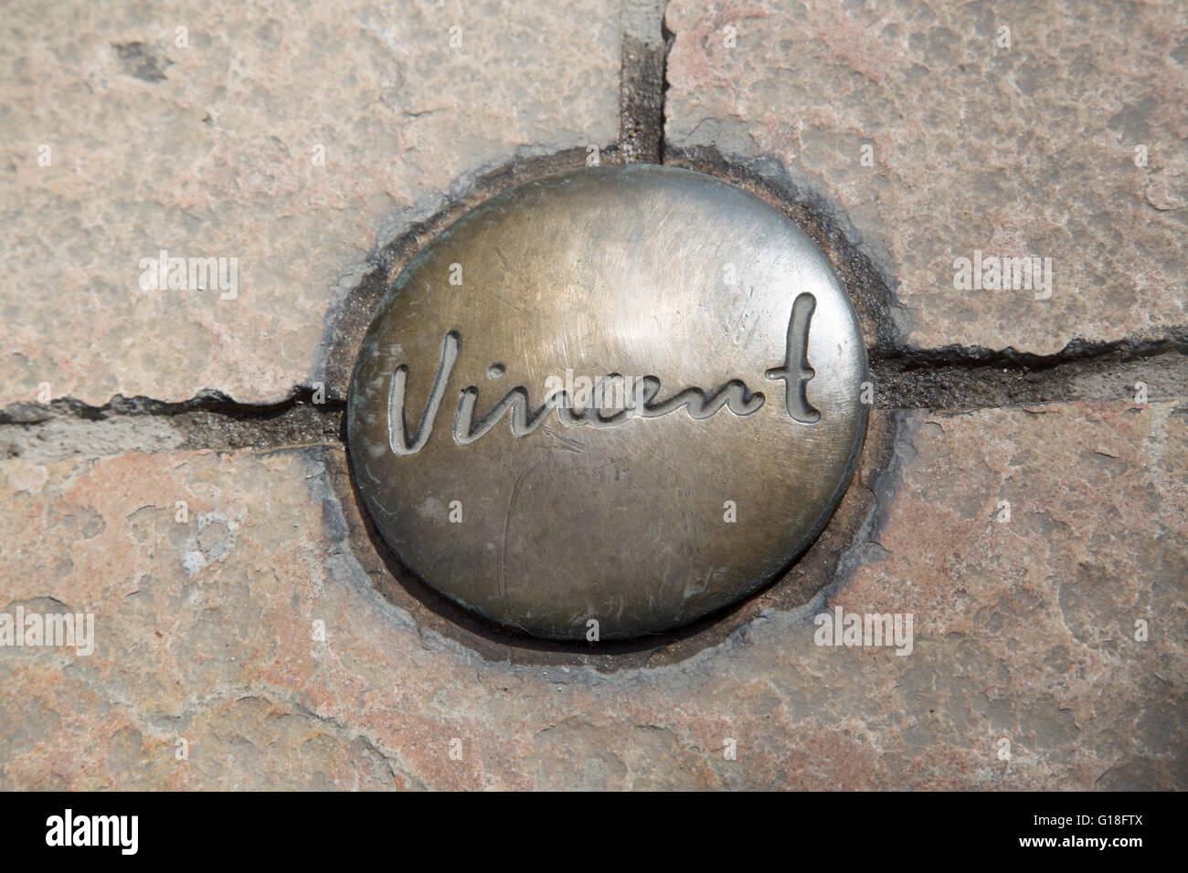 Vincent van gogh trail symbol saint remy de provence france vincent van gogh trail symbol saint remy de provence france biocorpaavc