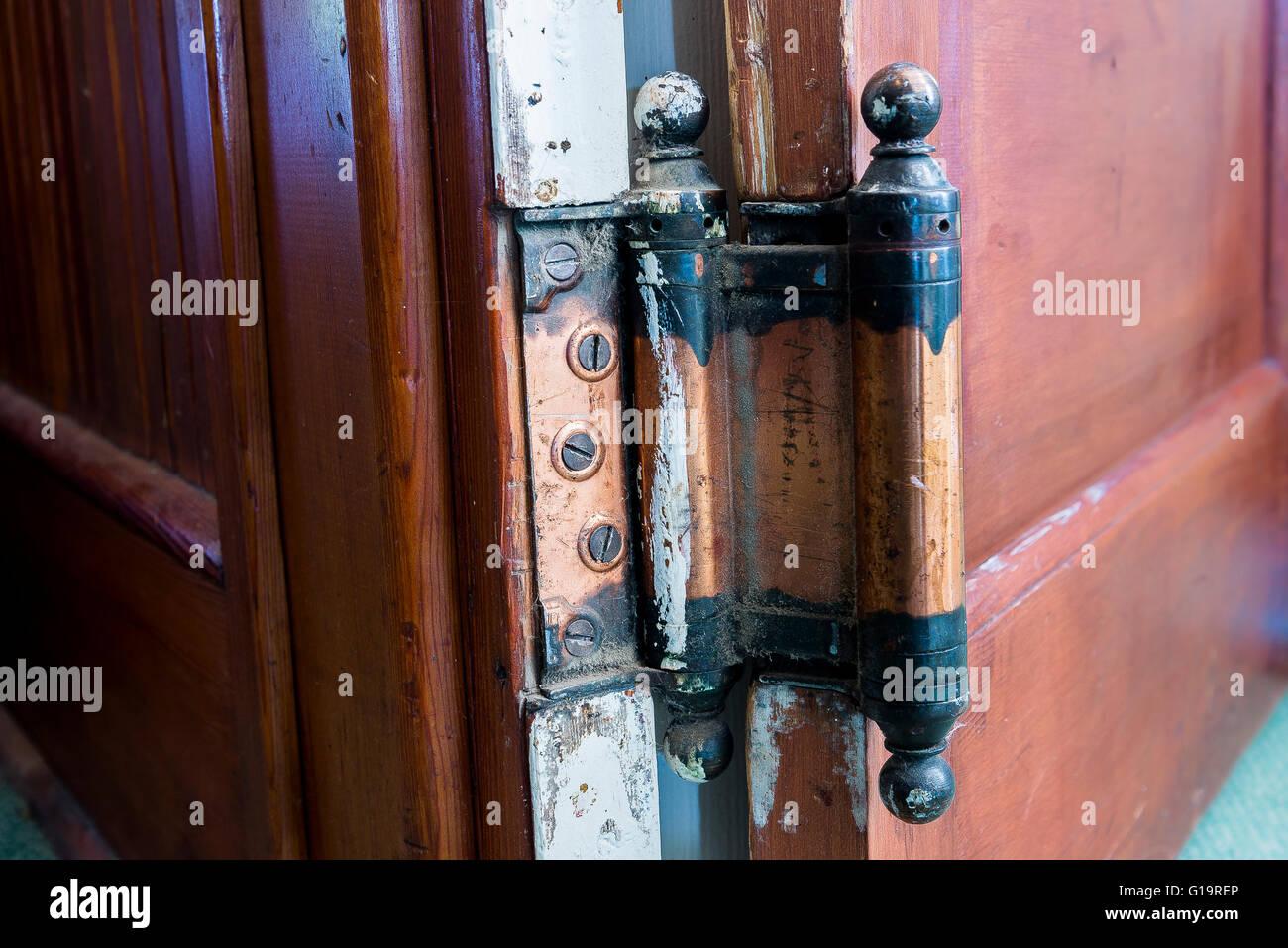 Garage door swing hinges - This Door Swings Both Ways Two Way Hinge Quilchena Hotel Near Merritt