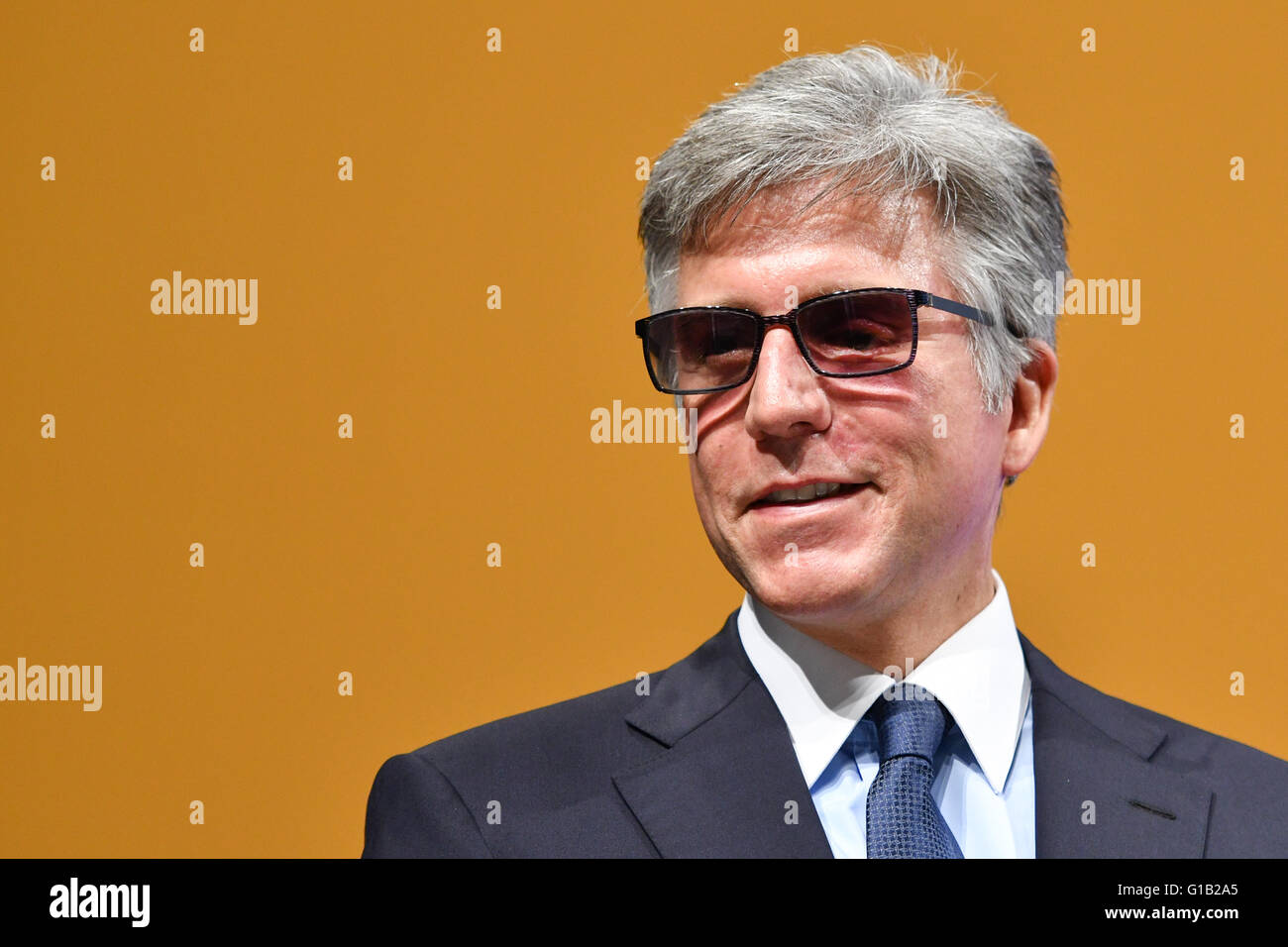 Walldorf Germany  City new picture : Walldorf, Germany. 12th May, 2016. Sap Ceo Bill Mcdermott Attends The ...