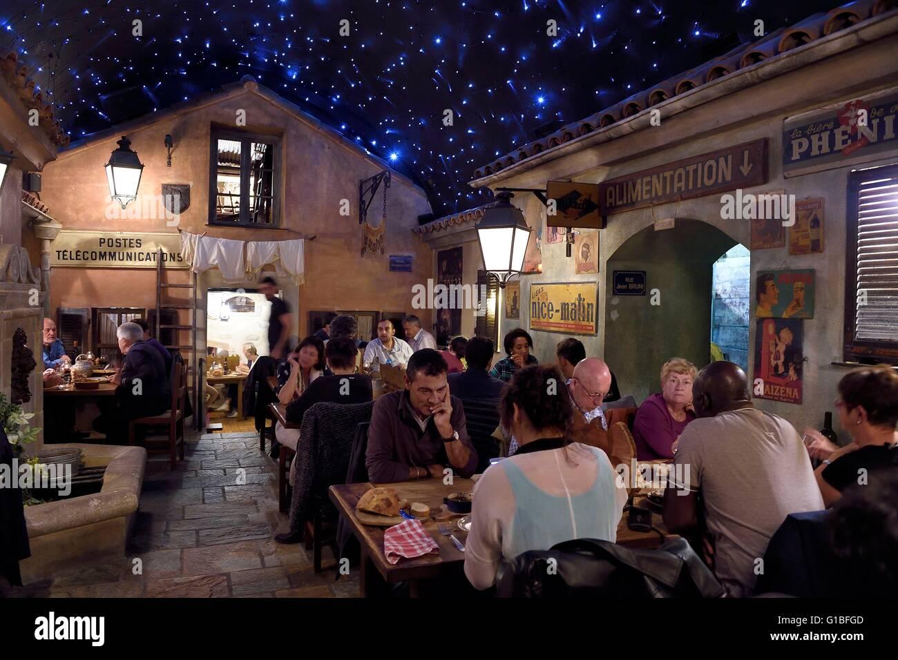 France corse du sud ajaccio restaurant le 20123 in the rue du roi stock photo royalty free - Restaurant corse du sud ...