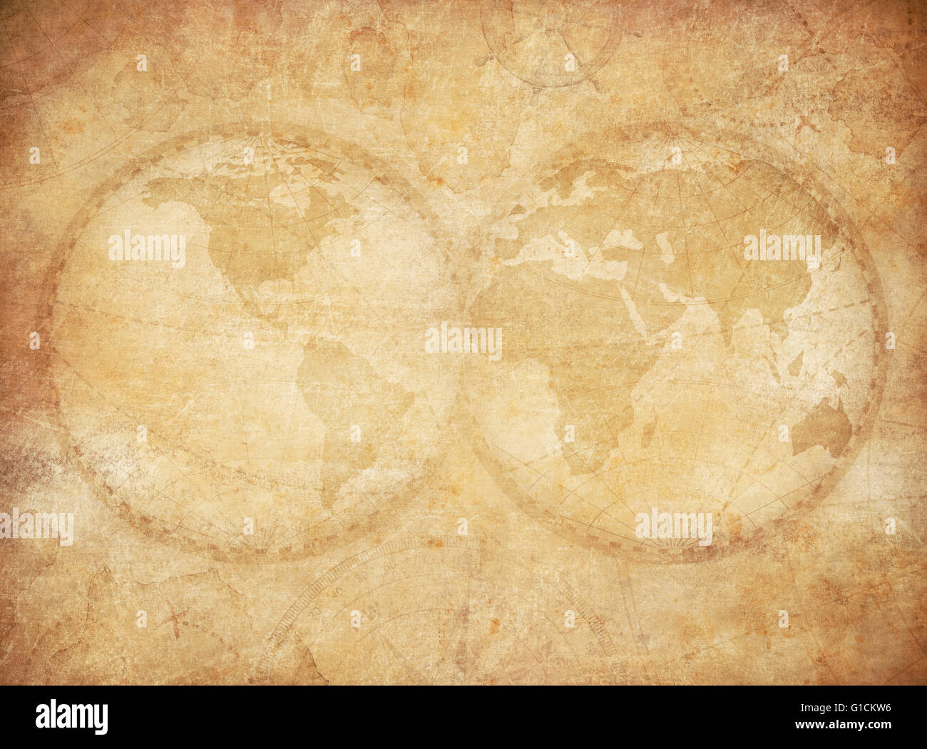 Old vintage world map background stock photo royalty free image old vintage world map background gumiabroncs Image collections