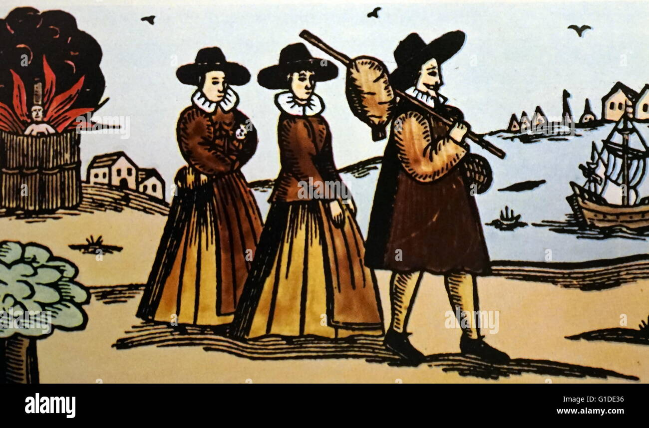 Puritans England Stock Photos & Puritans England Stock Images - Alamy