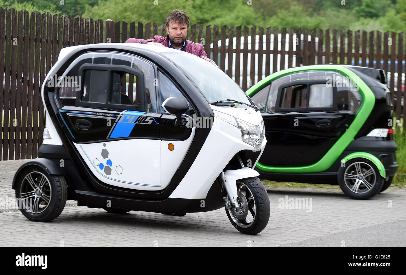 Electric Three Wheeler Japan >> Czech company Velor-X-Trike launched its electric three-wheelers and Stock Photo, Royalty Free ...
