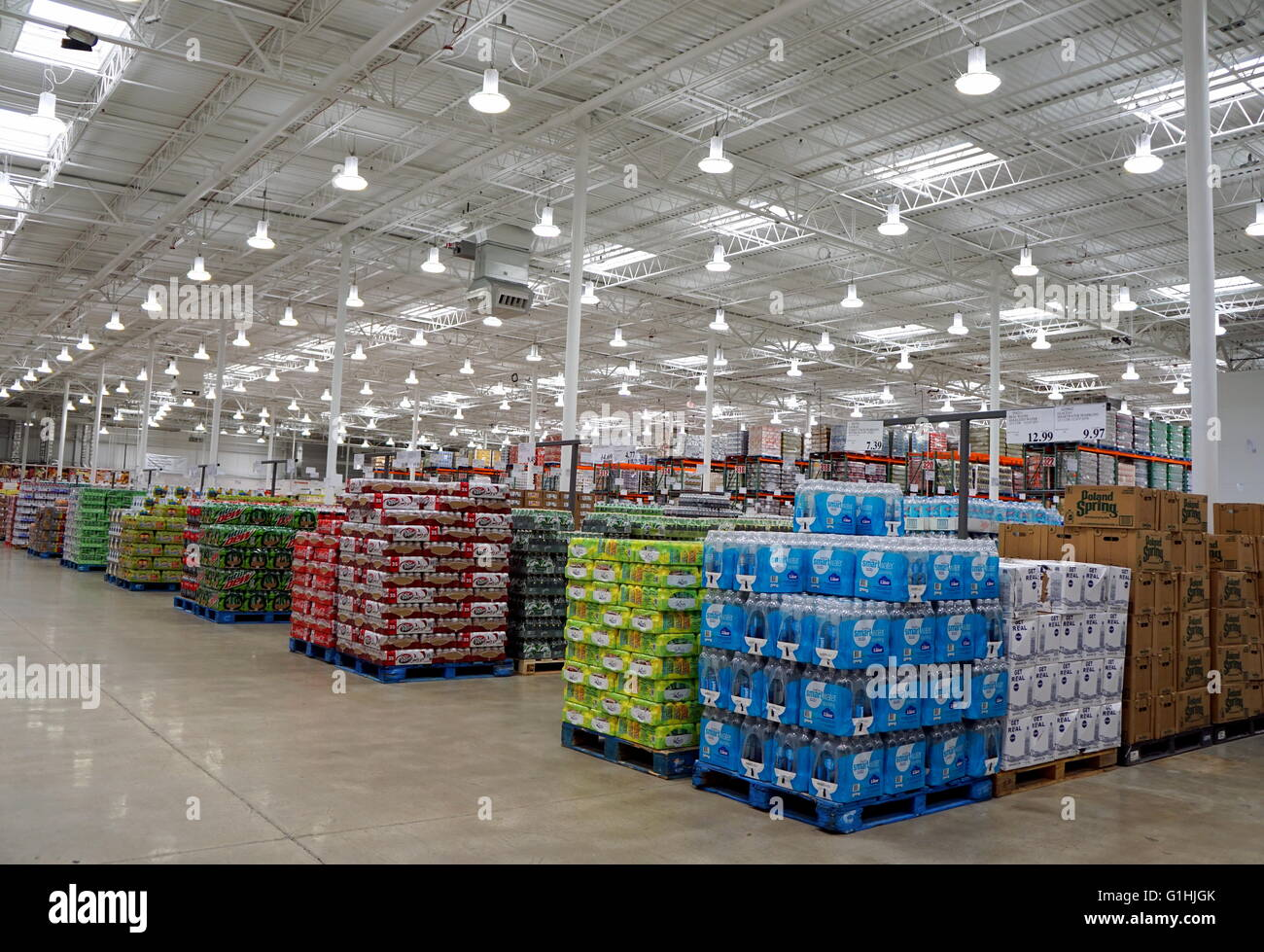 inside the costco business center warehouse hackensack new inside the costco business center warehouse hackensack new jersey usa