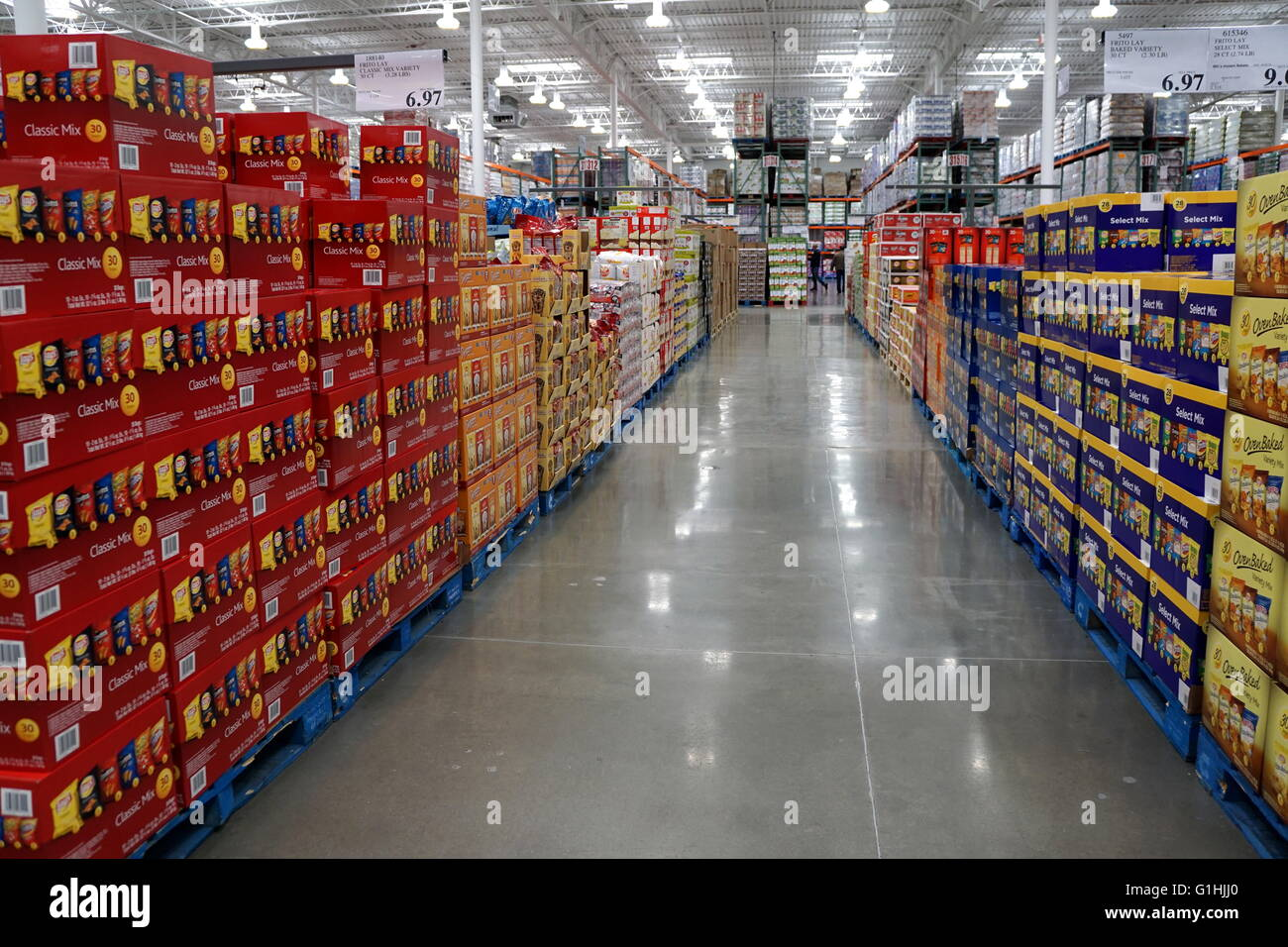 In , Costco was the third largest retailer in the United States. That year Costco announced plans to open an online store in China using Alibaba Group. Costco today. In the United States, Costco's main competitors operating membership warehouses are Sam's Club and BJ's Wholesale Club.