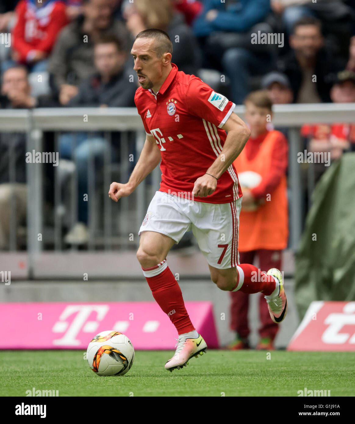 Munich s Franck Ribery in action during the German Bundesliga