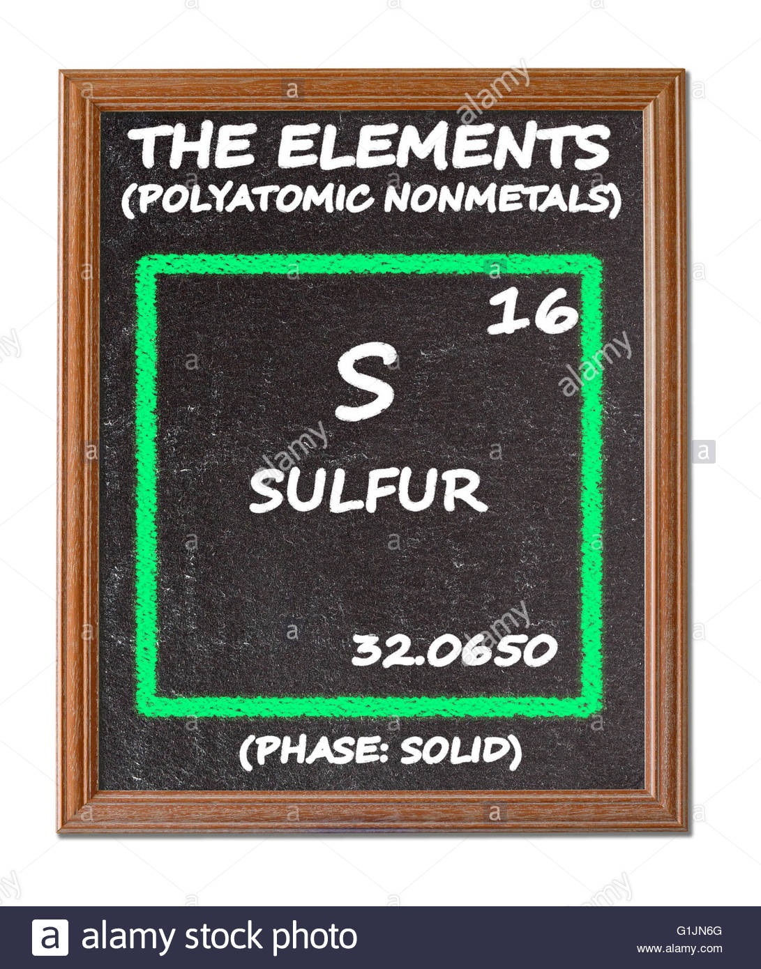 Sulfur details from the periodic table stock photo royalty free stock photo sulfur details from the periodic table gamestrikefo Choice Image