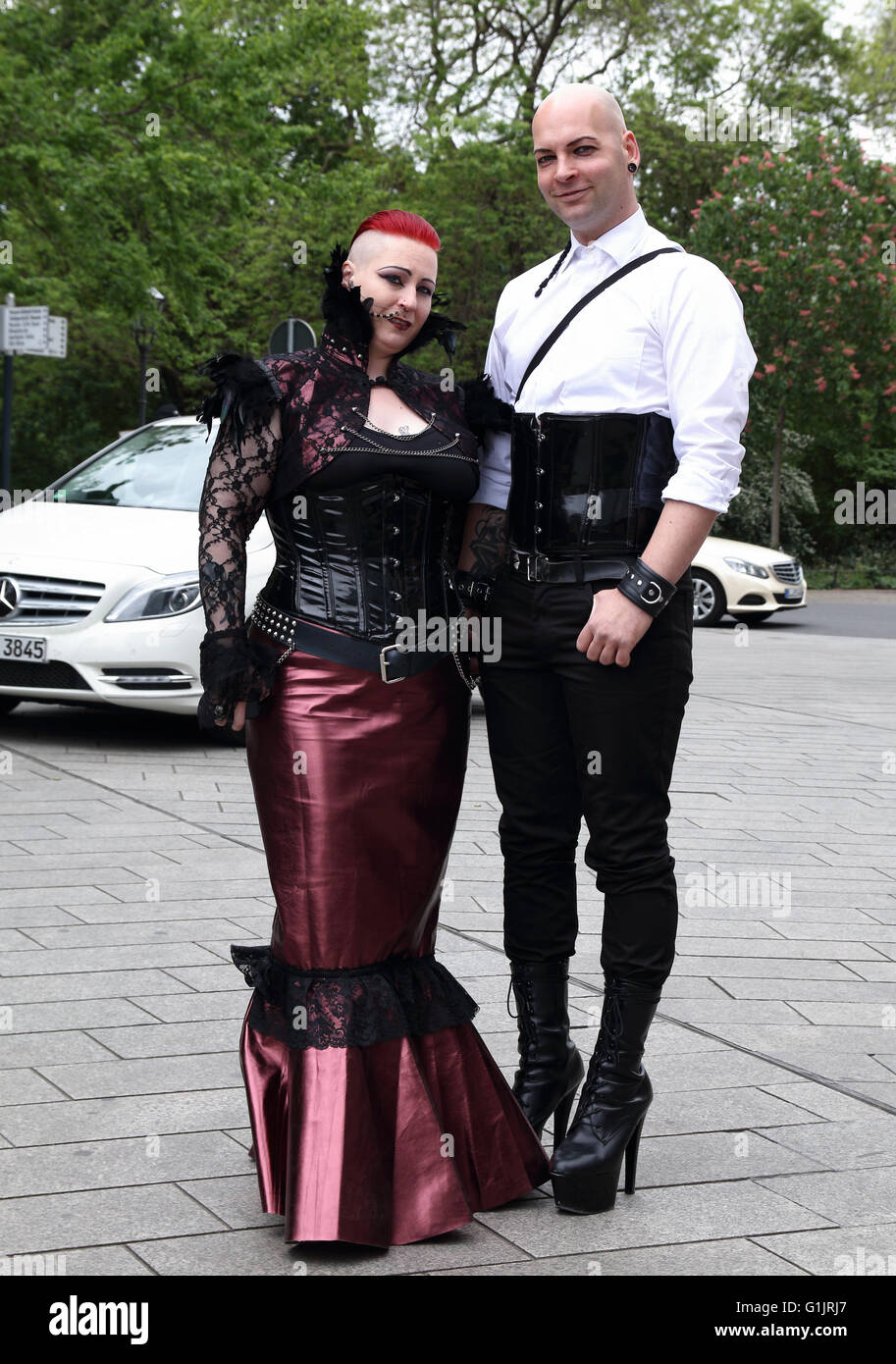 Goth Festival Gotik Wave Treffen Leipzig Germany 13th