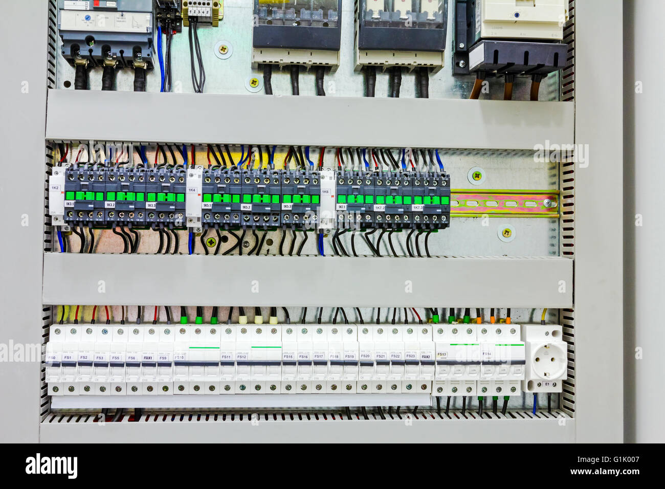automatic fuse electrical connector in power lines located inside G1K007 fuse board stock photos & fuse board stock images alamy Circuit Breaker Box at readyjetset.co