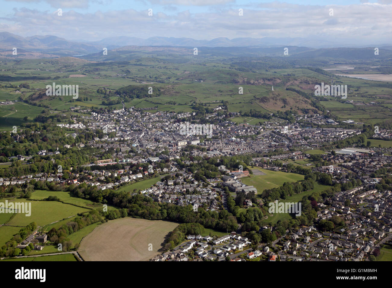 A town in the lake district