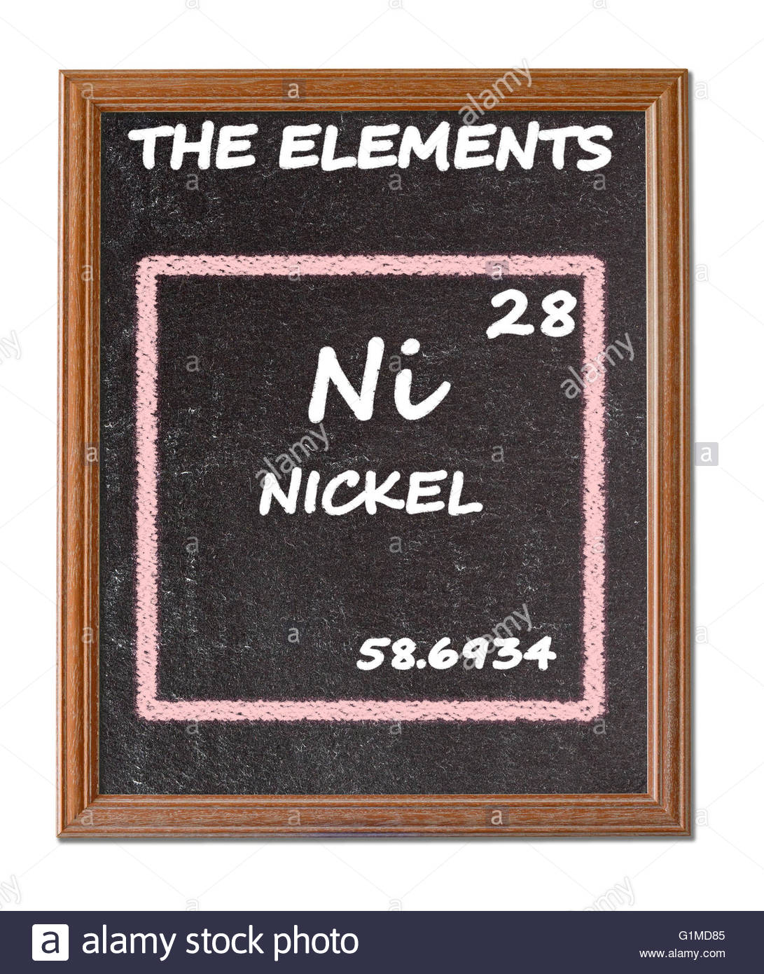 Nickel details from the periodic table stock photo royalty free nickel details from the periodic table gamestrikefo Gallery
