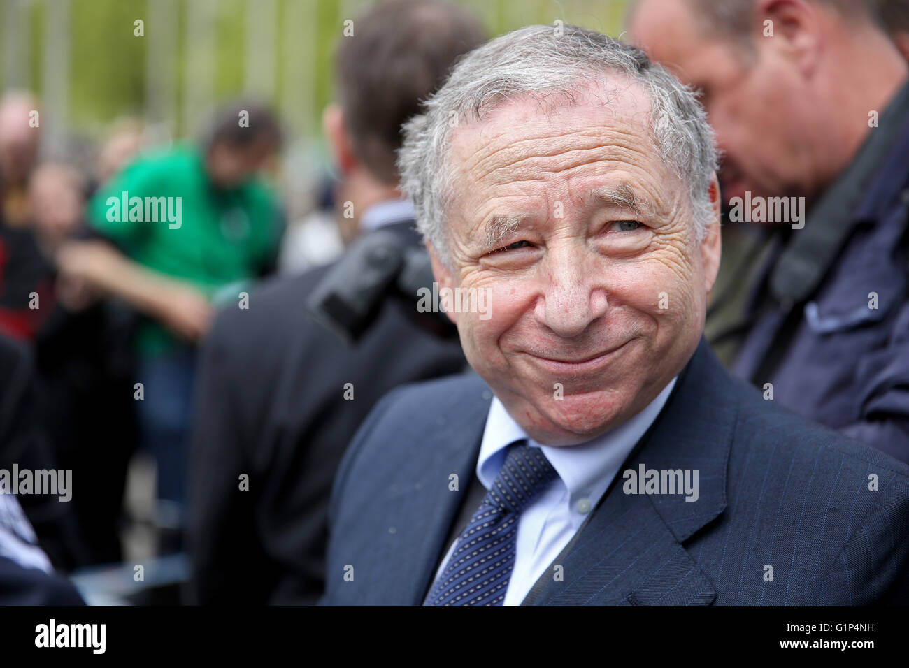 Leipzig, Germany. 18th May, 2016. Jean Todt, president of ...