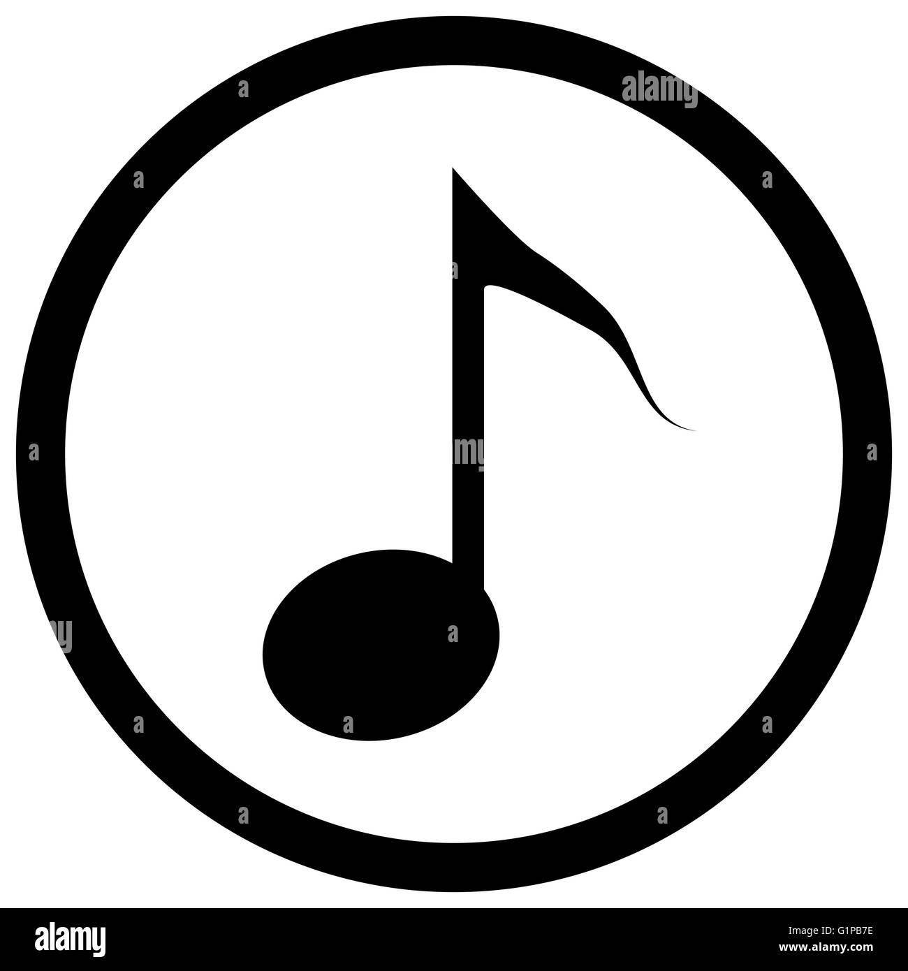 Note icon black music notes and musical icon or symbol tune note icon black music notes and musical icon or symbol tune outline tone vector flat design illustration biocorpaavc Image collections