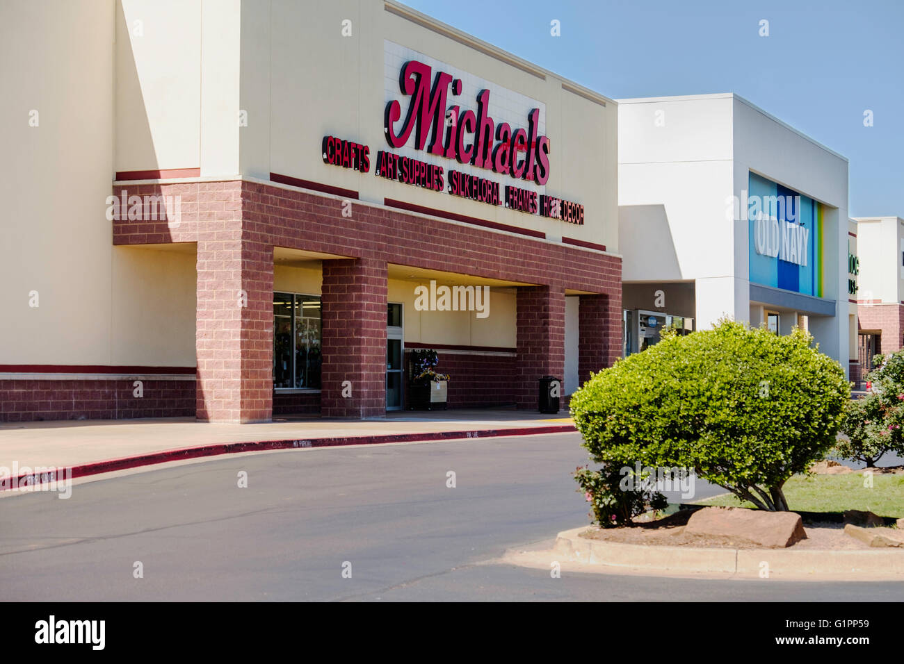 Old navy logo stock photos old navy logo stock images alamy the exterior of michaels arts and crafts and old navy a clothing store on buycottarizona