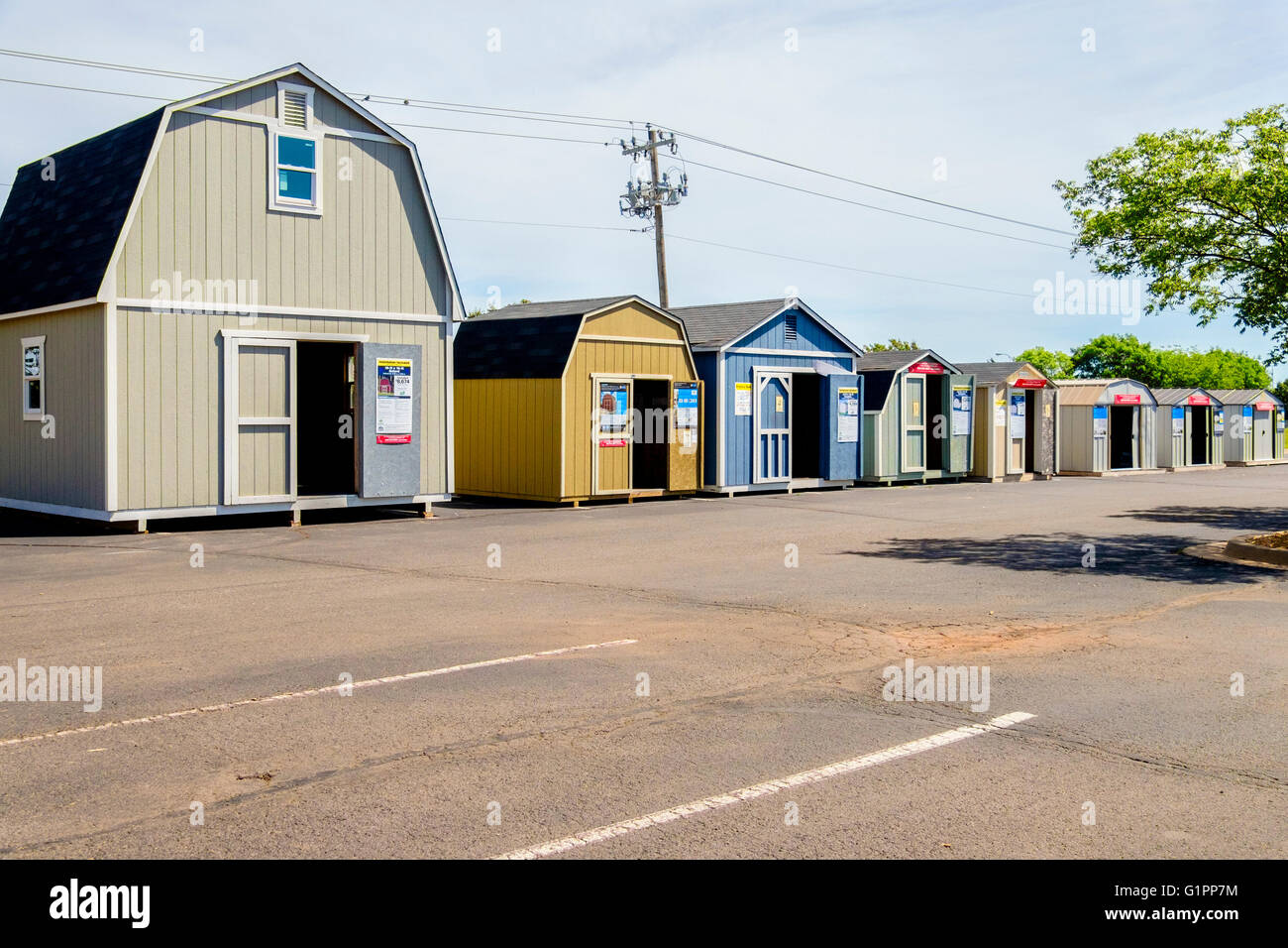 Portable storage sheds fence line portable storage sheds for Build on your lot oklahoma
