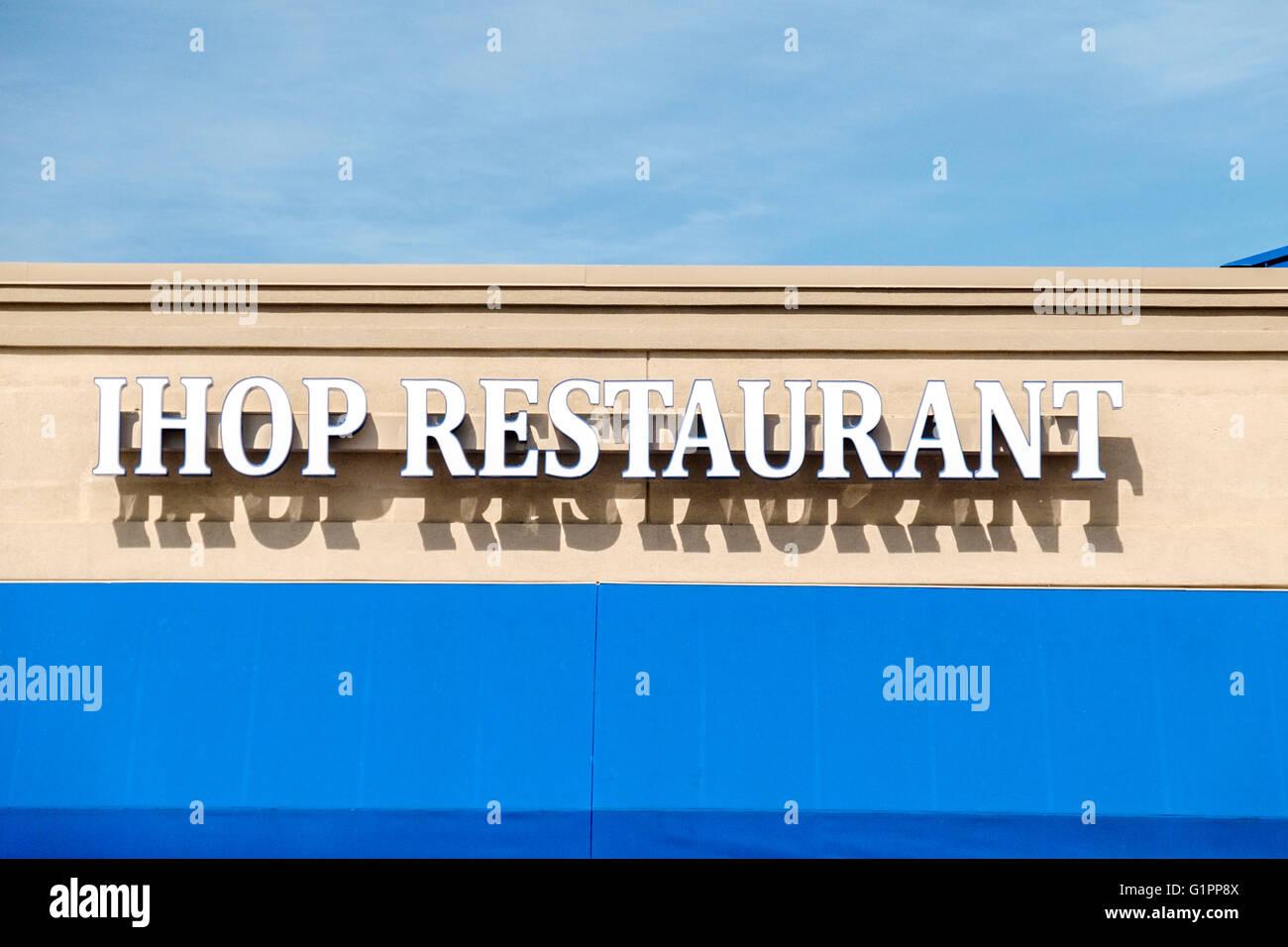 The Exterior Sign On Ihop Restaurant In Oklahoma City, Oklahoma ...