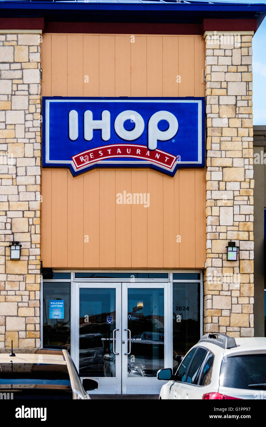 The Front Exterior Of Ihop, International House Of Pancakes, In ...