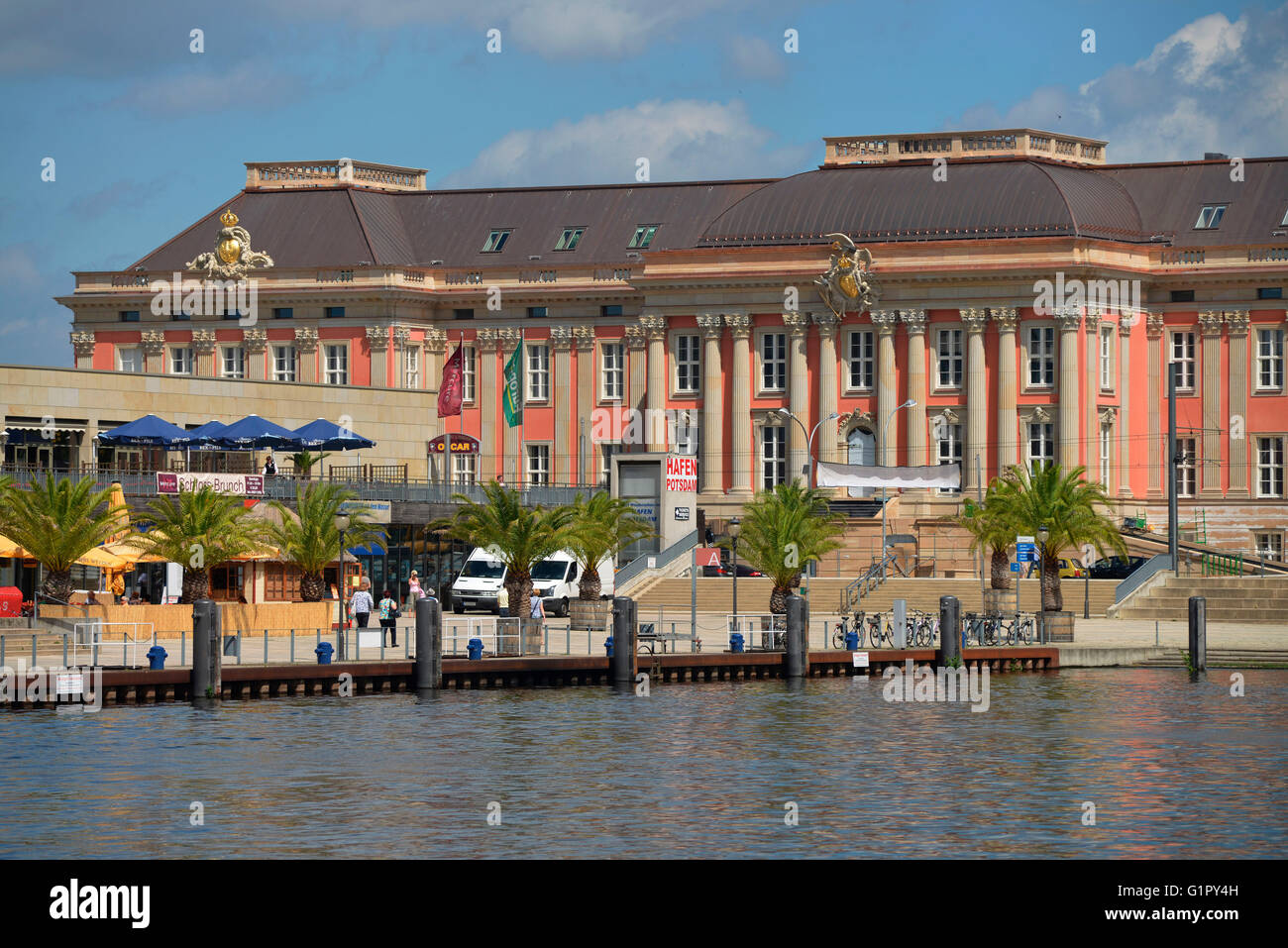 new landtag alter markt potsdam brandenburg germany stock photo royalty free image. Black Bedroom Furniture Sets. Home Design Ideas