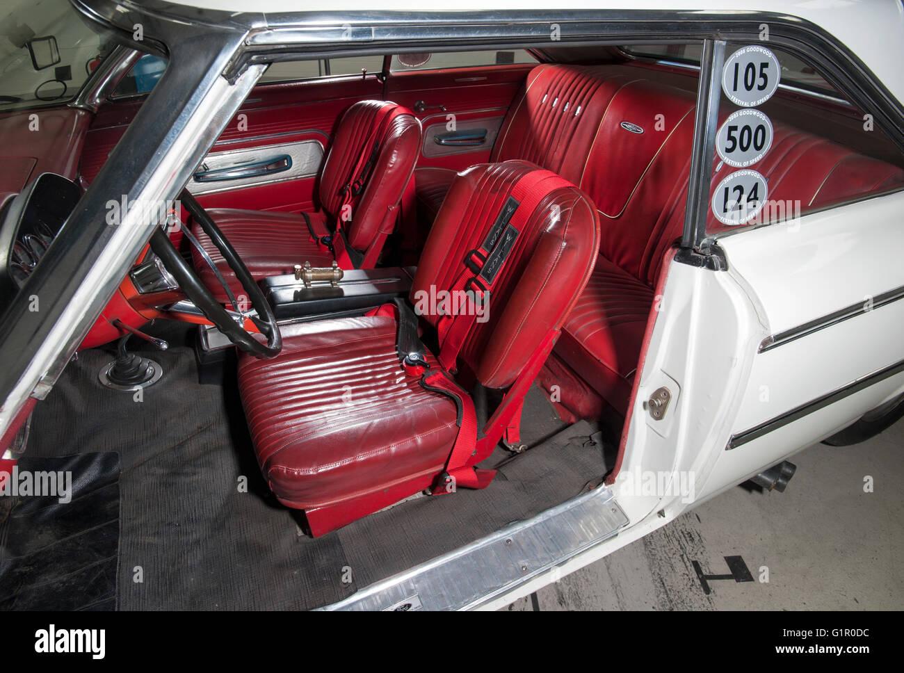 Sears Car: Racing Legend 'Gentleman' Jack Sears And His Ford Galaxie