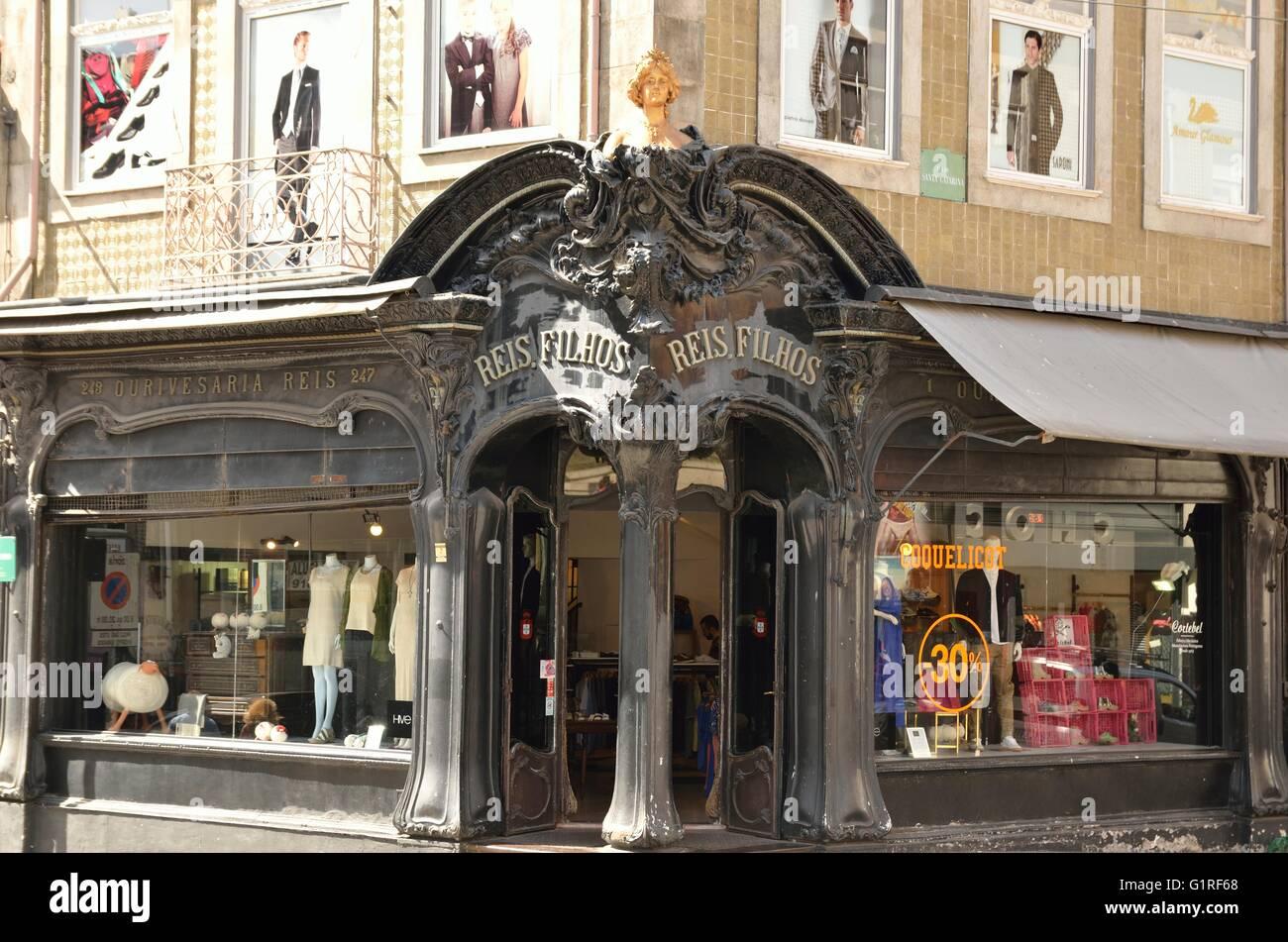 Nouveau clothing store