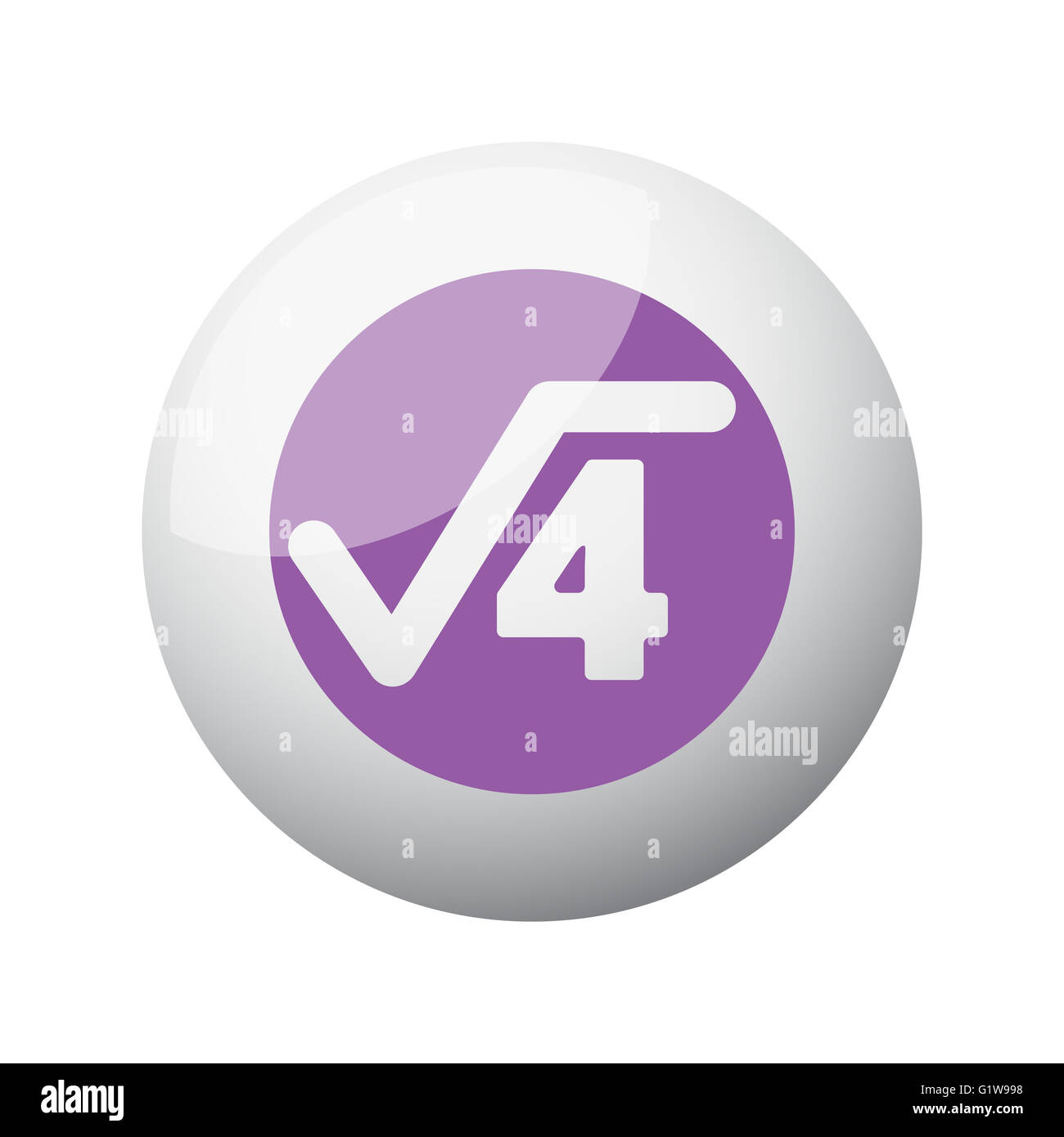 Flat purple square root icon on 3d sphere stock photo royalty free flat purple square root icon on 3d sphere buycottarizona Images