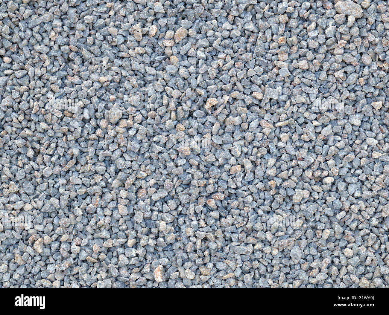 Smooth shaped white stones surface texture background stock photo - Stock Photo Crushed Stone Texture And Background