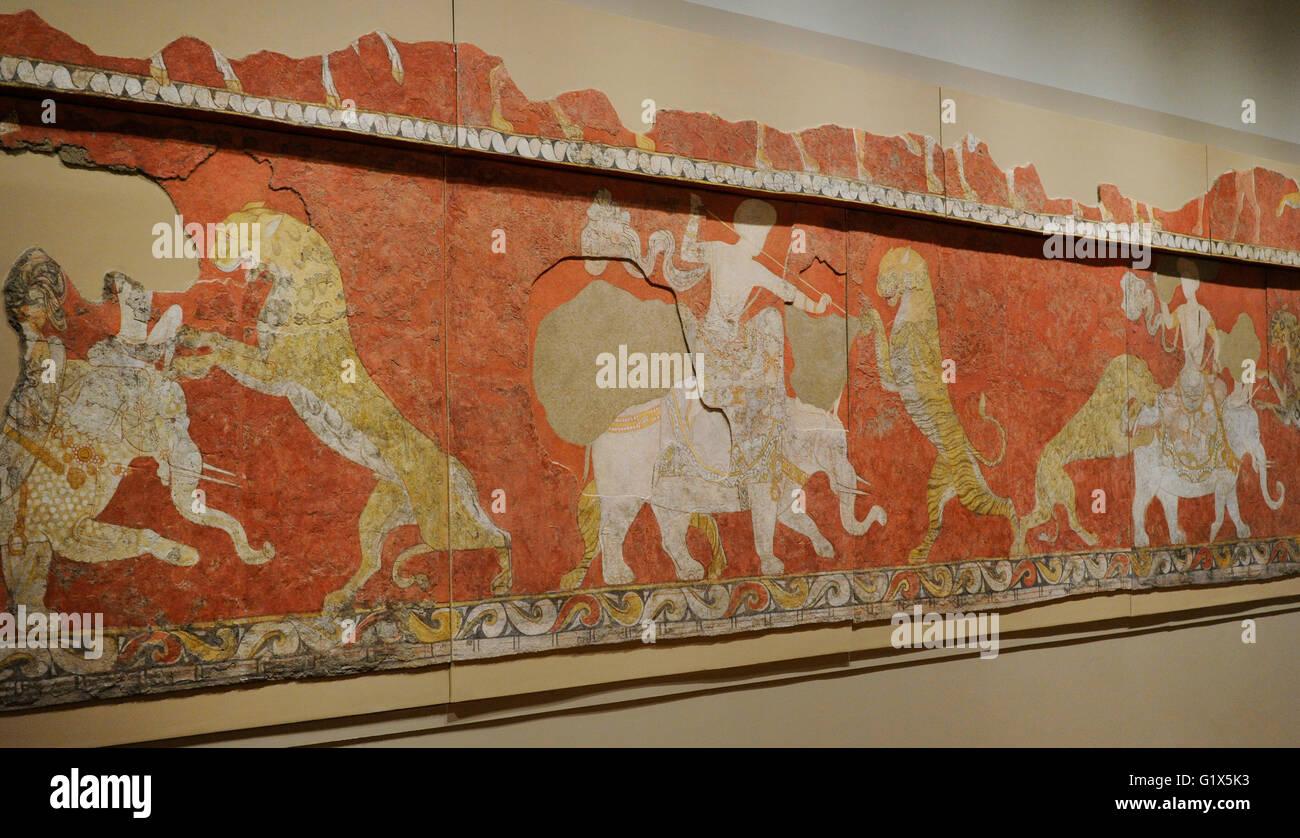 100 islamic wall murals high quality islamic design home sogdia pre islamic central asia mural red hall composition pre islamic central asia mural red hall