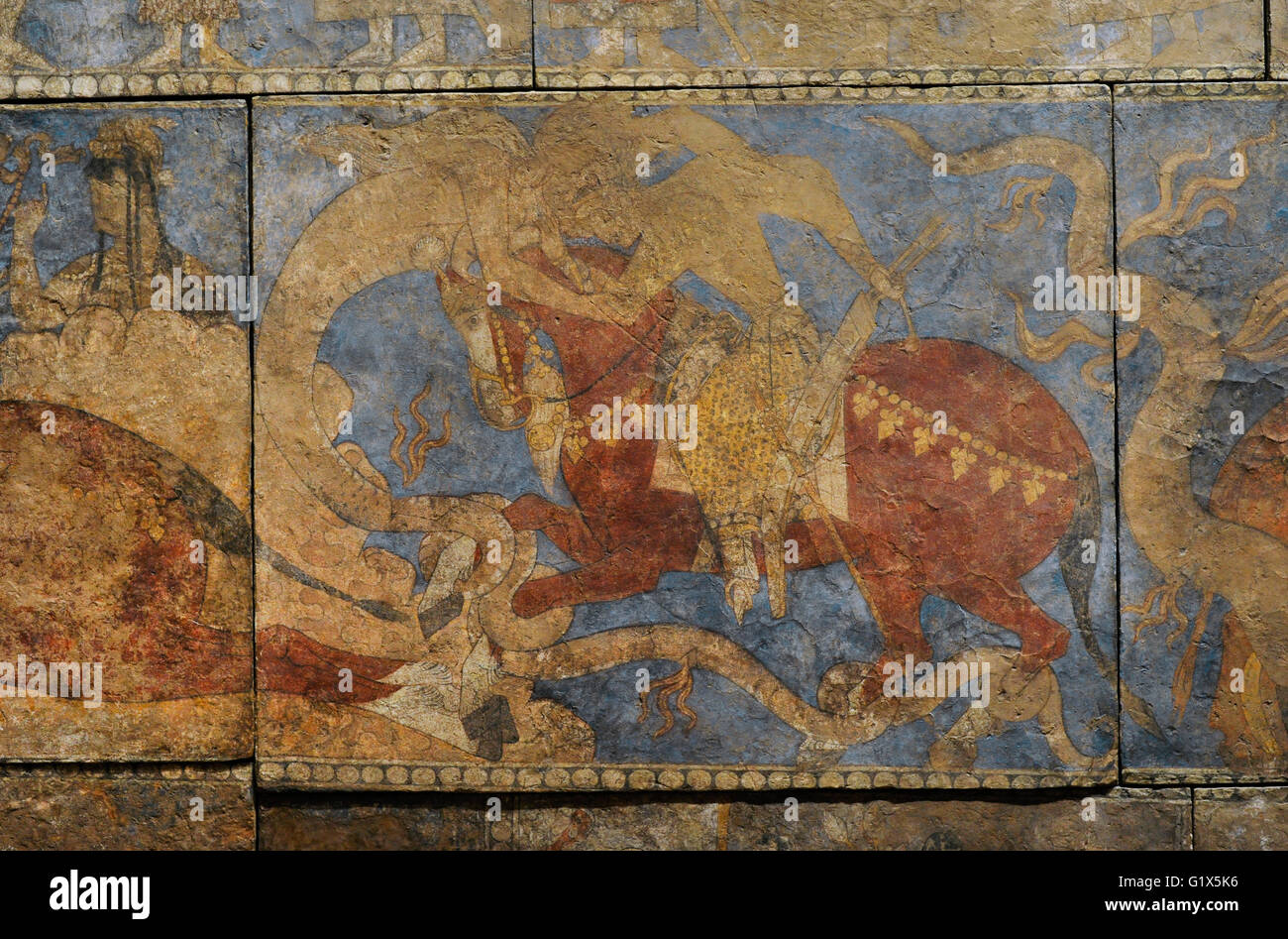 sogdia pre islamic central asia mural painting pre islamic central asia mural painting