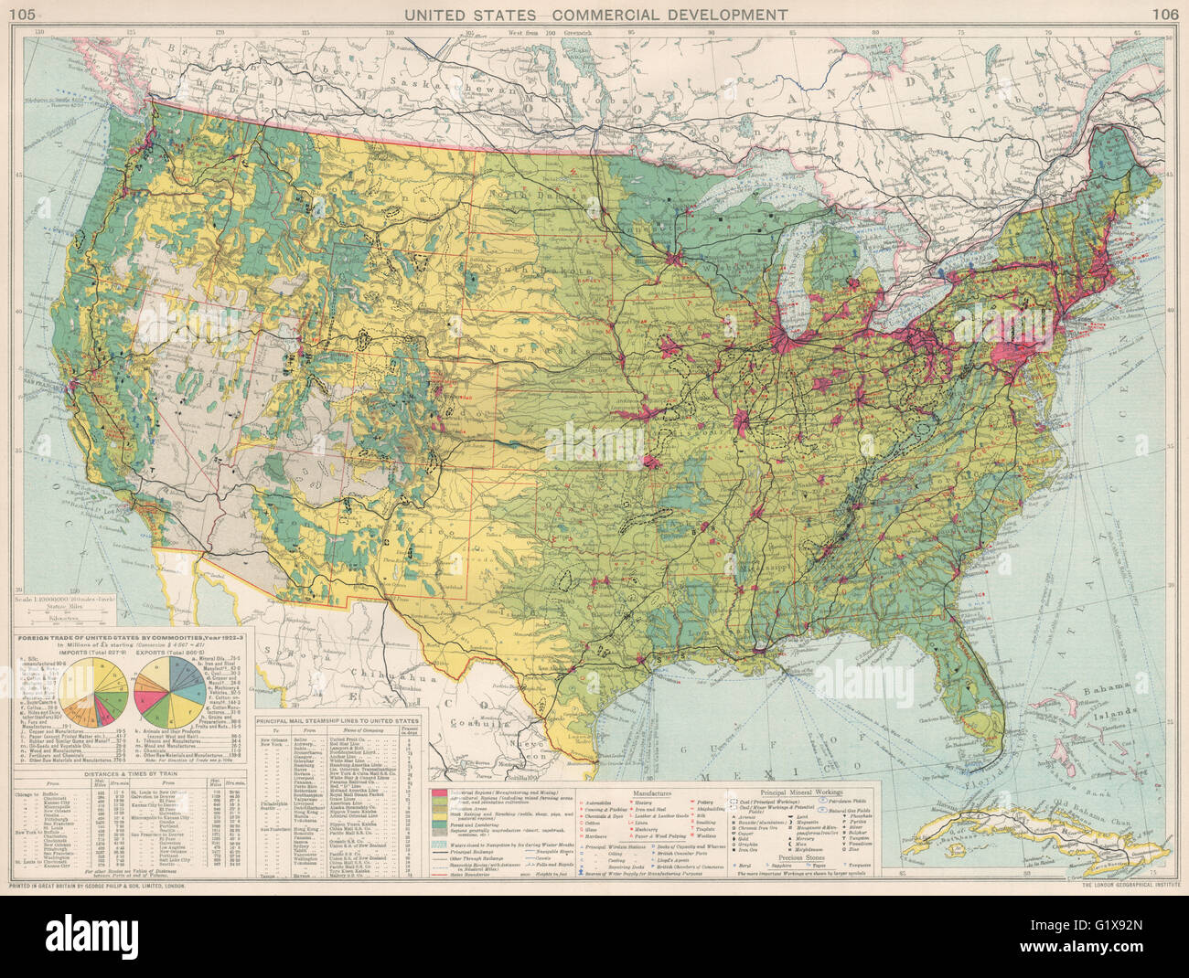 United States Commercial Development Industrial Manufacturing - Where Are The Industrial On The Us Map