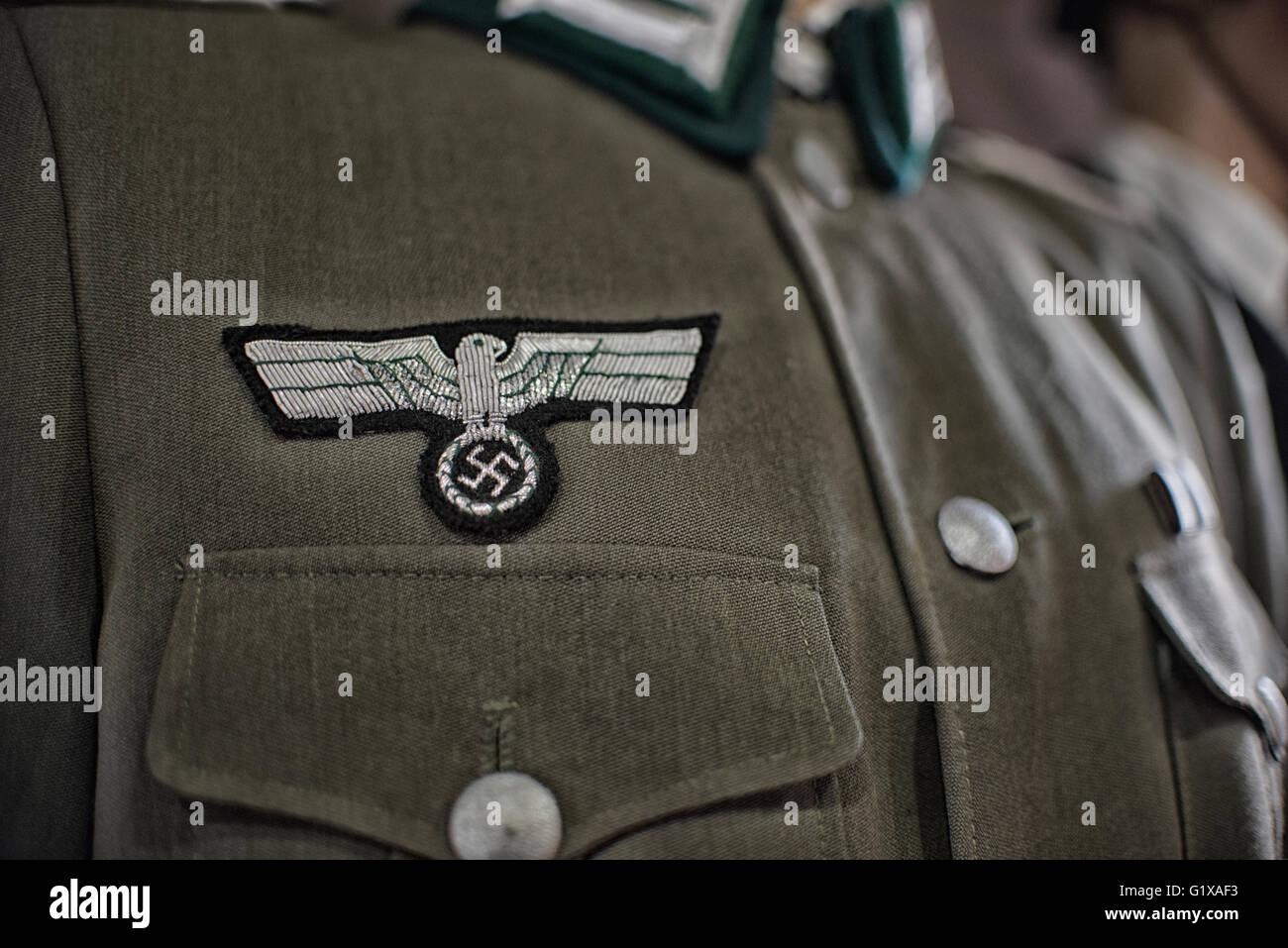 Nazi symbol on uniform stock photo 104455879 alamy nazi symbol on uniform biocorpaavc Gallery
