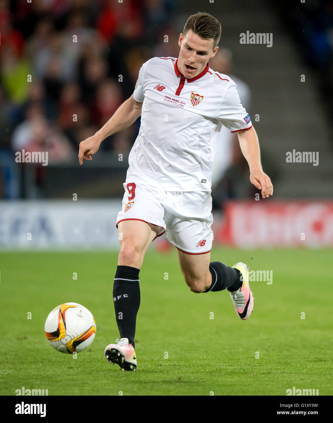 Basel Switzerland 18th May 2016 Sevilla s Kevin Gameiro in