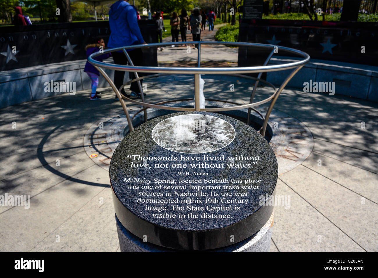 Revolution how to get hm01 cut pokemon revolution move relearner - Water Fountains Nashville Tn Stock Photo The Mcnairy Spring Memorial Fountain With W H Auden Quote