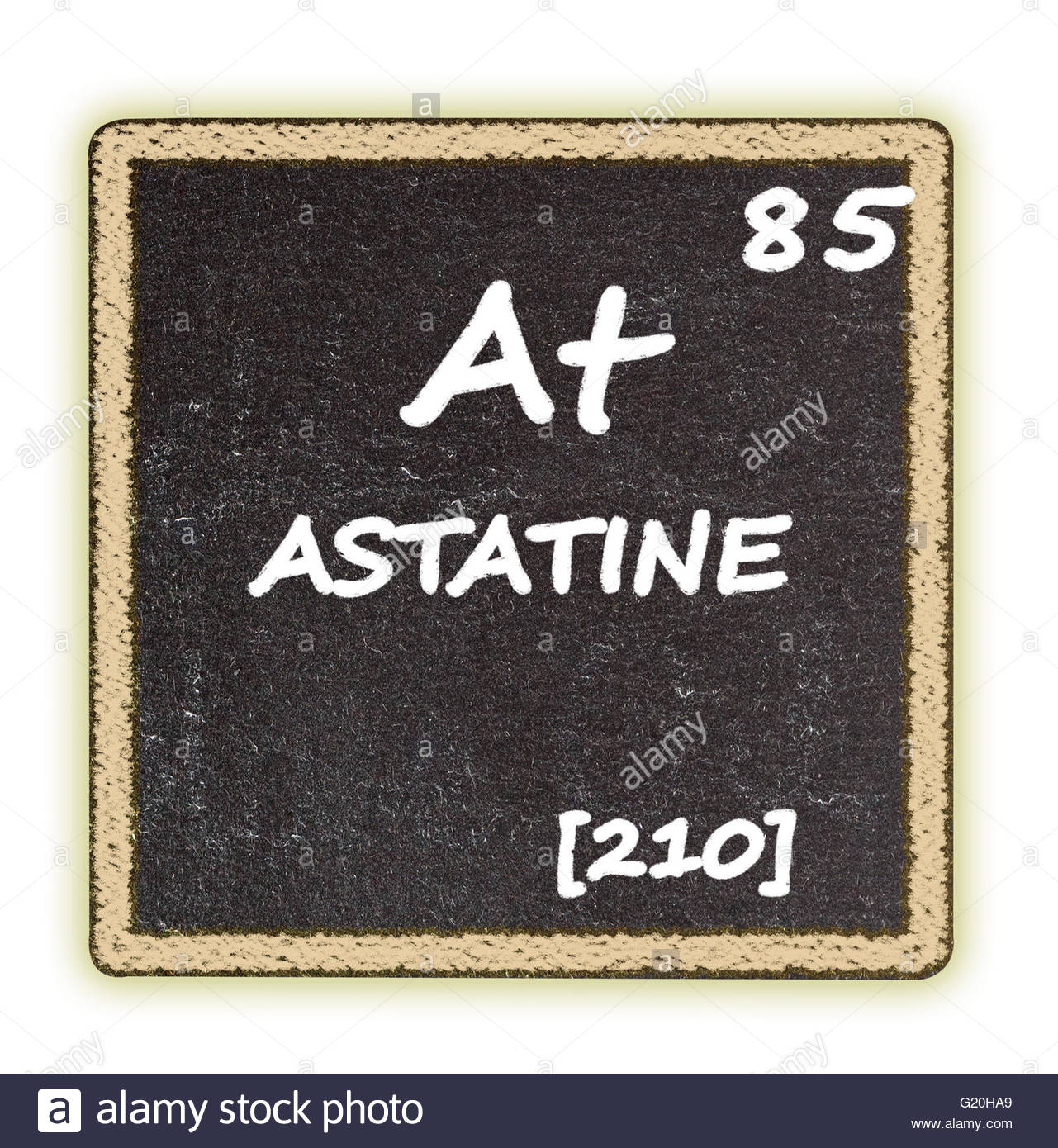 Astatine details from the periodic table stock photo royalty astatine details from the periodic table gamestrikefo Gallery