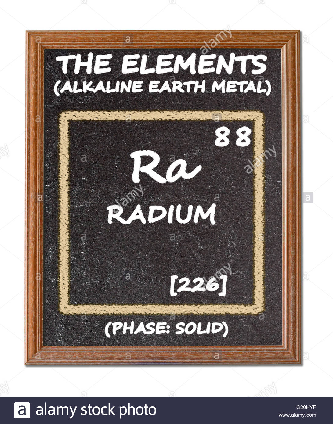 Radium details from the periodic table stock photo royalty free radium details from the periodic table gamestrikefo Images