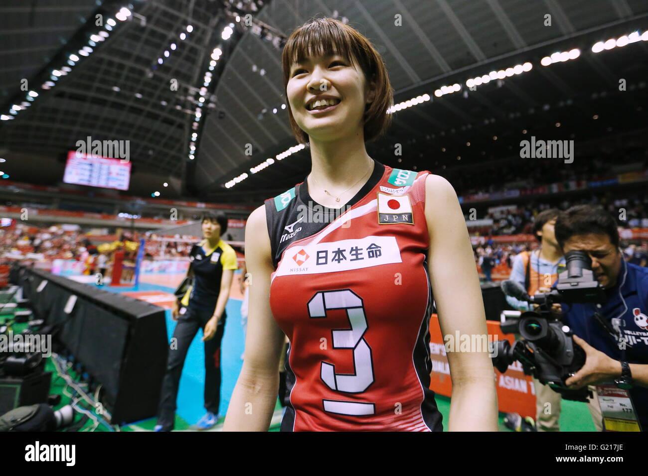 Saori Kimura Saori Kimura (JPN), MAY 21, 2016 - Volleyball : Women's Volleyball World  Final Qualification for the Rio de Janeiro Olympics 2016 match between  Japan ...