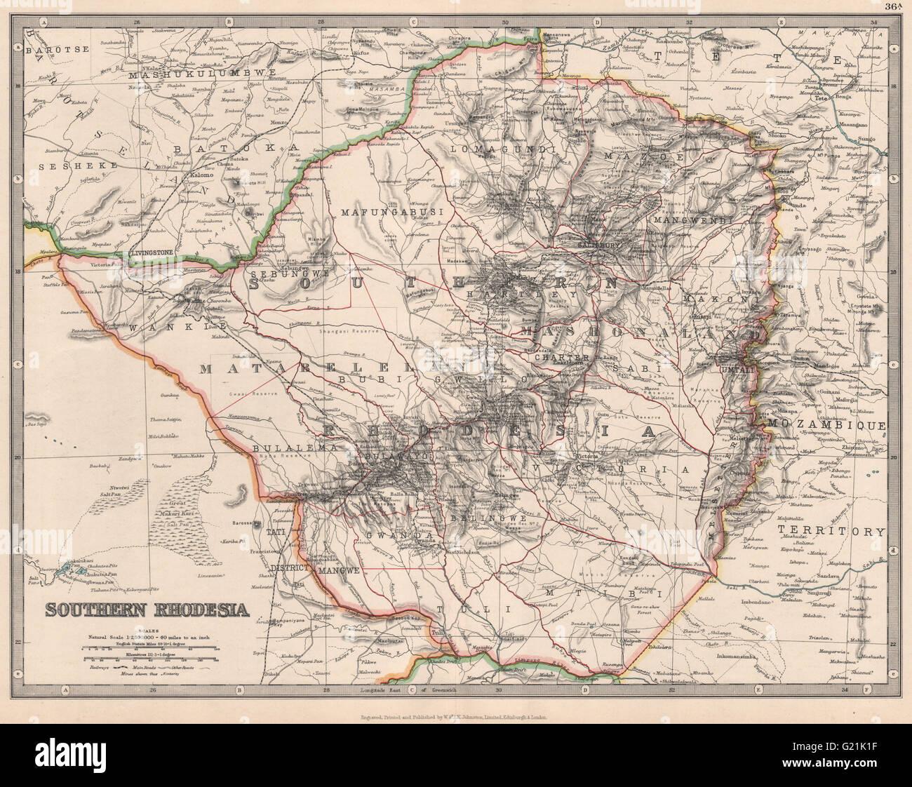 SOUTHERN RHODESIA now Zimbabwe SalisburyHarare Railways Stock