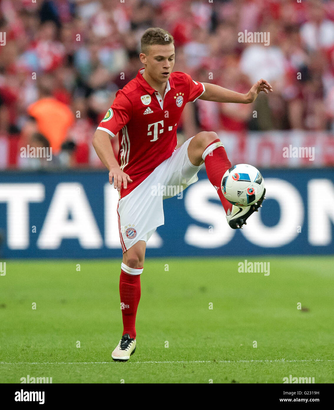 Berlin Germany 21st May 2016 Munich s Joshua Kimmich during