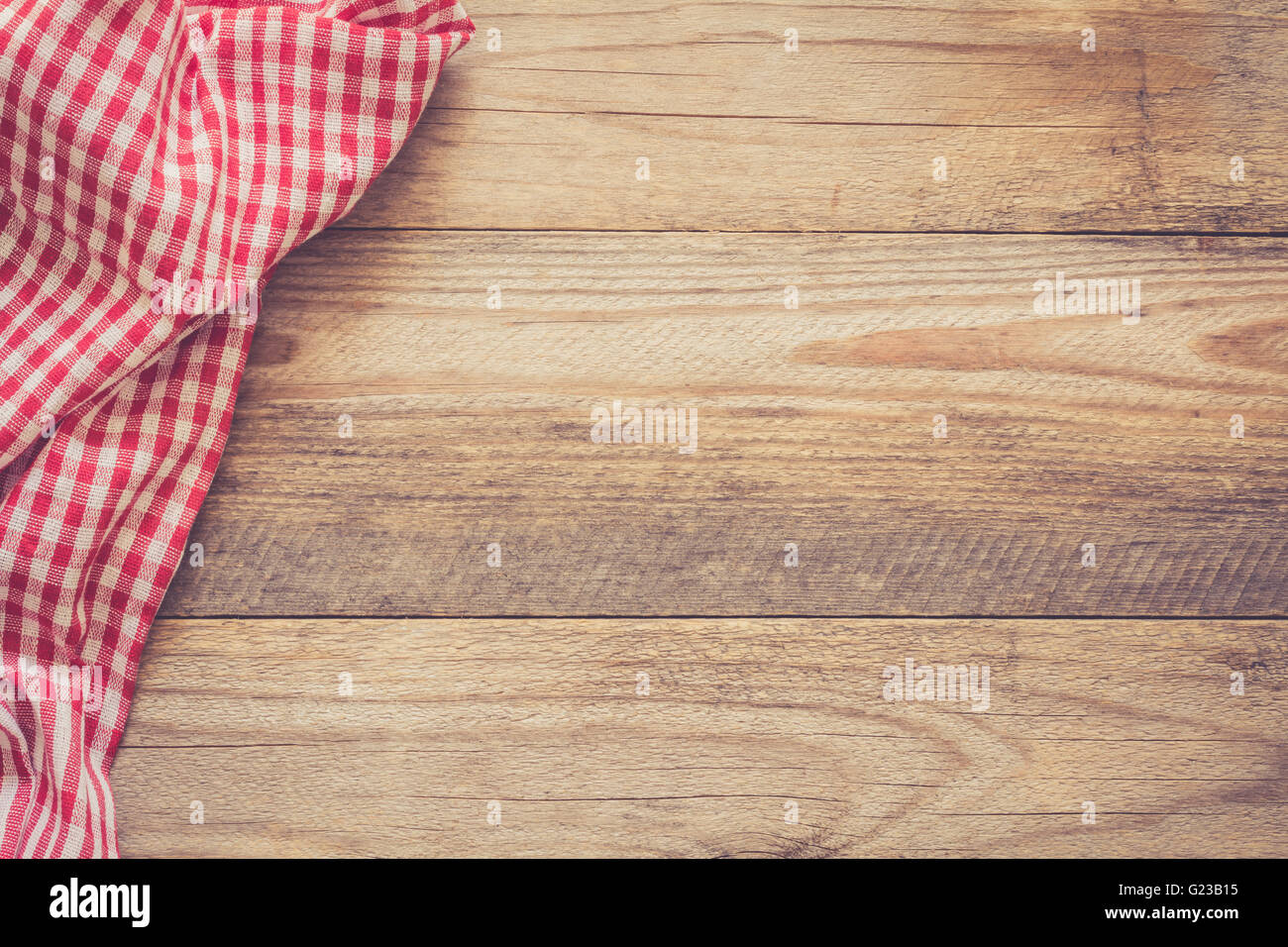 Wood table background hd - Stock Photo Wooden Background With Textile Cooking Food Pizza Wooden Table Background With Red And White Textile Copy Space For Text