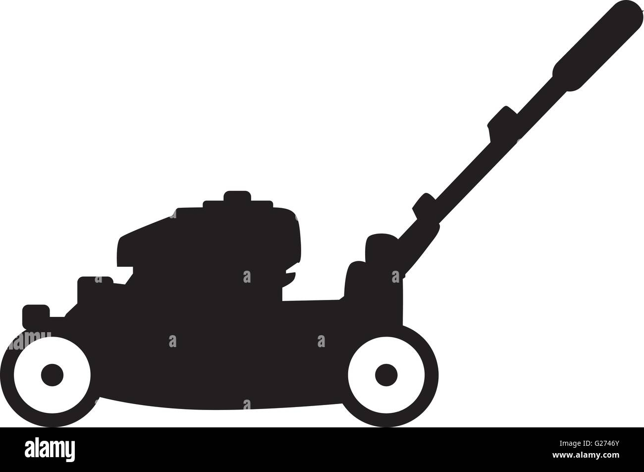 lawn mower vector - photo #19