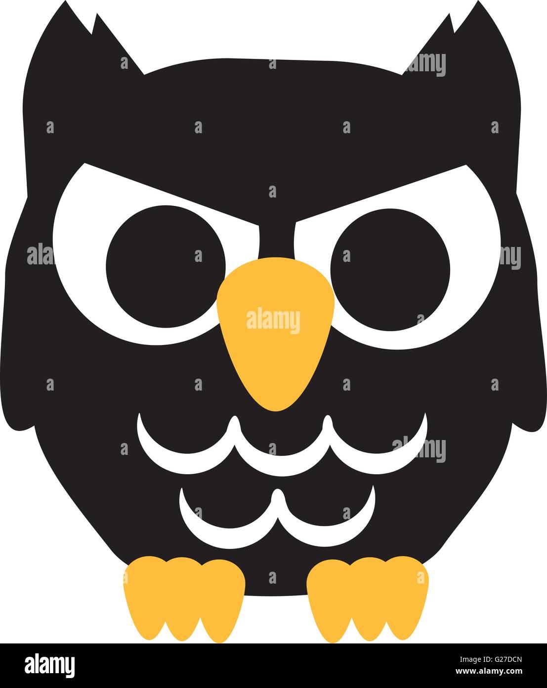 bad cartoon owl halloween stock vector art u0026 illustration vector