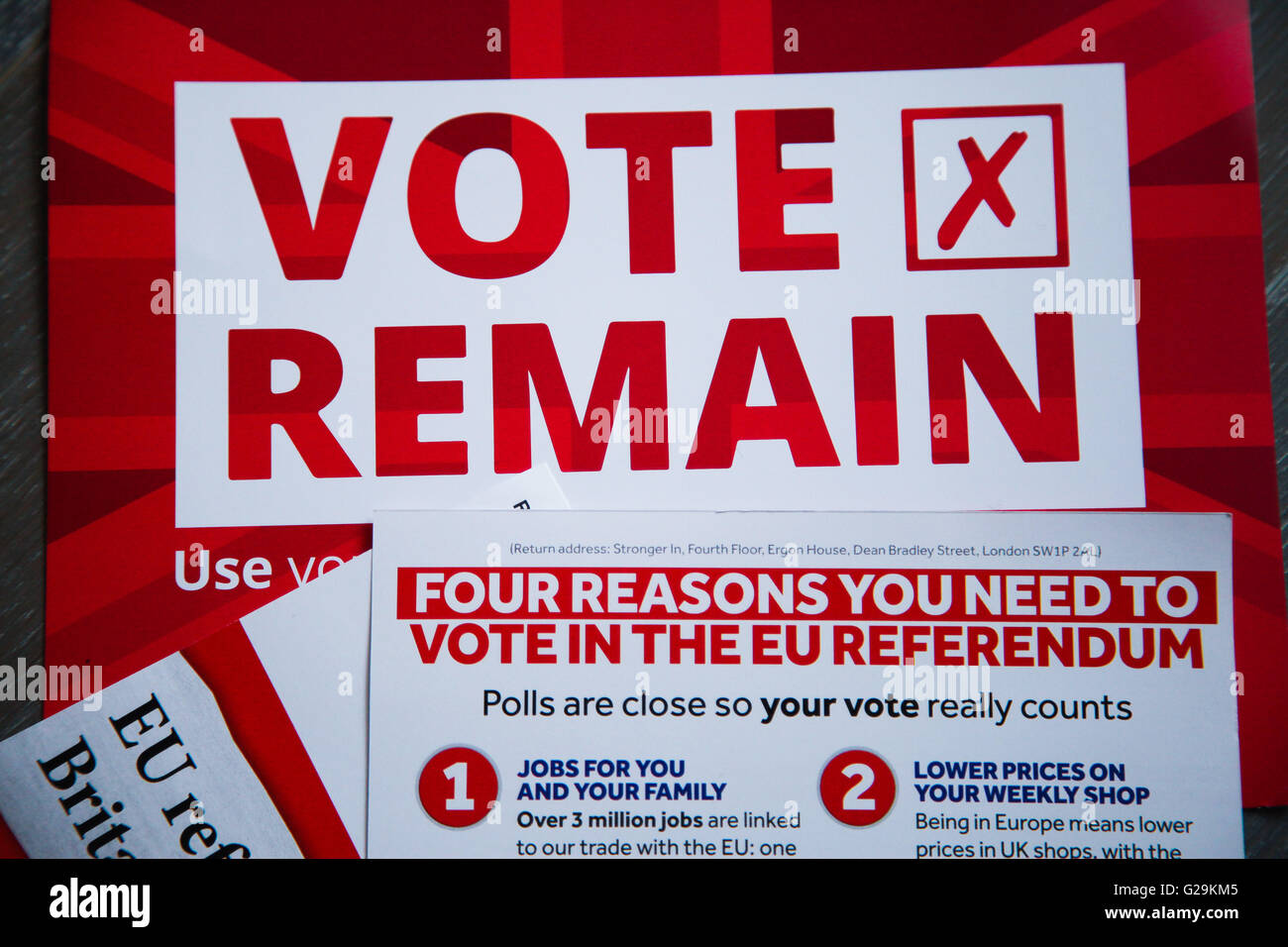 Vote Remain Stock Photos & Vote Remain Stock Images - Alamy